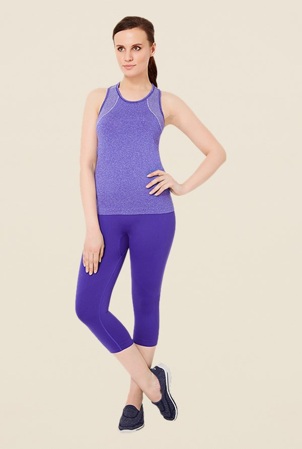 Amante Purple Tank Top