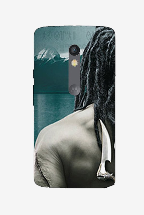 Ziddi SHIVAGHORI Hard Back Cover for Moto X Play (Multi)