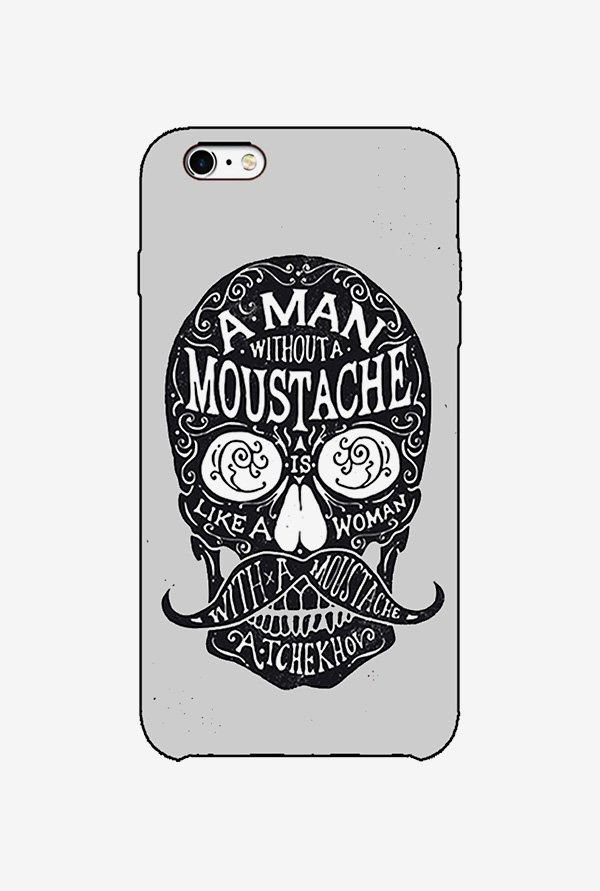 Ziddi MOUSTHSKUL Hard Back Cover for iPhone 6 (Multi)