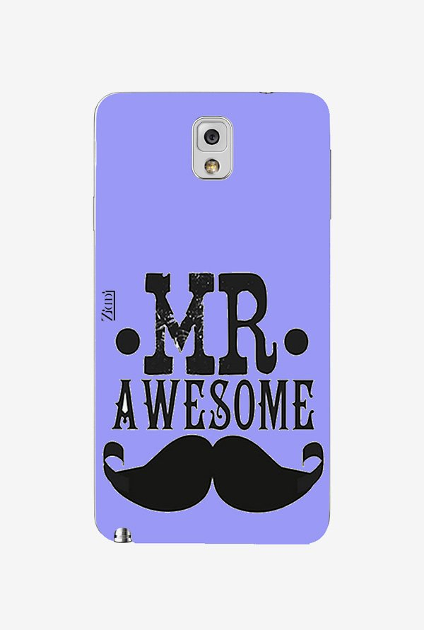 Ziddi MRAWESOME Hard Back Cover for Galaxy Note 3 (Multi)