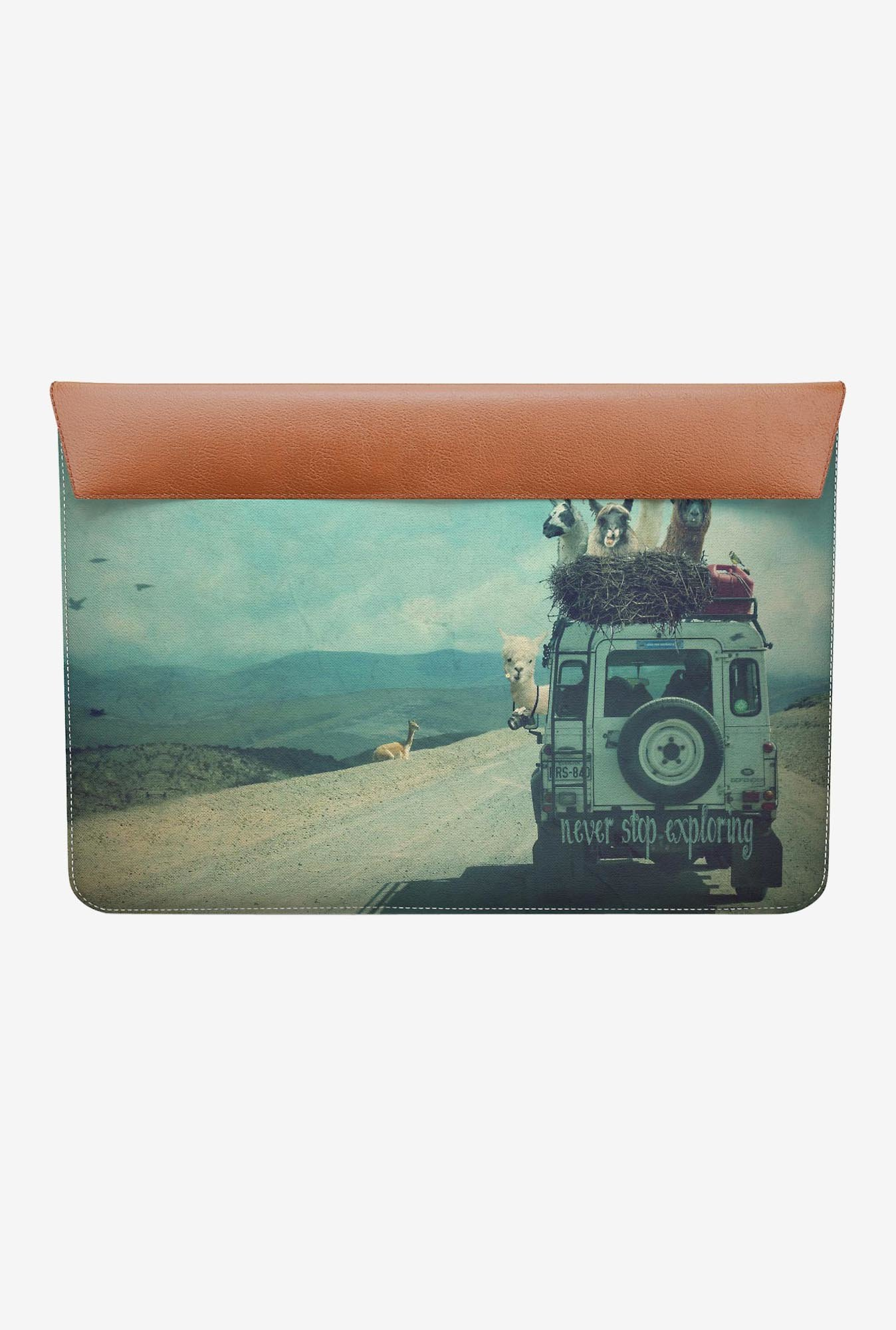 "DailyObjects Explore Country MacBook Air 11"" Envelope Sleeve"
