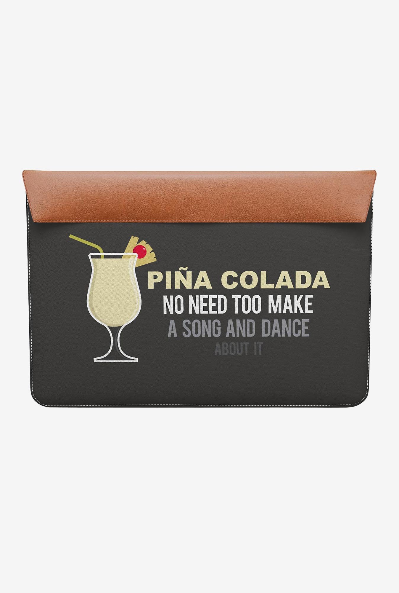 "DailyObjects Pina Colada MacBook Air 11"" Envelope Sleeve"