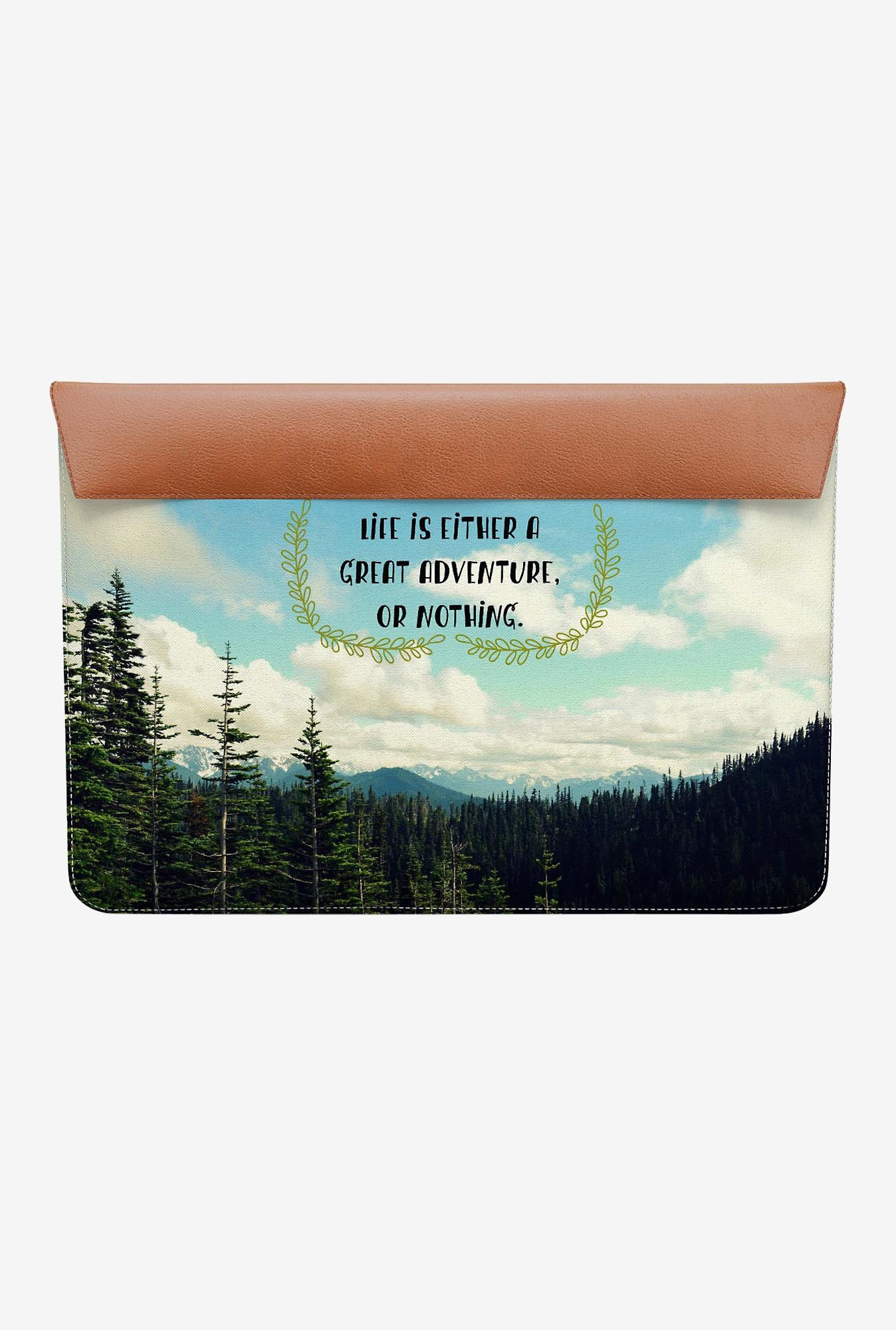 "DailyObjects Life Adventure MacBook Air 13"" Envelope Sleeve"