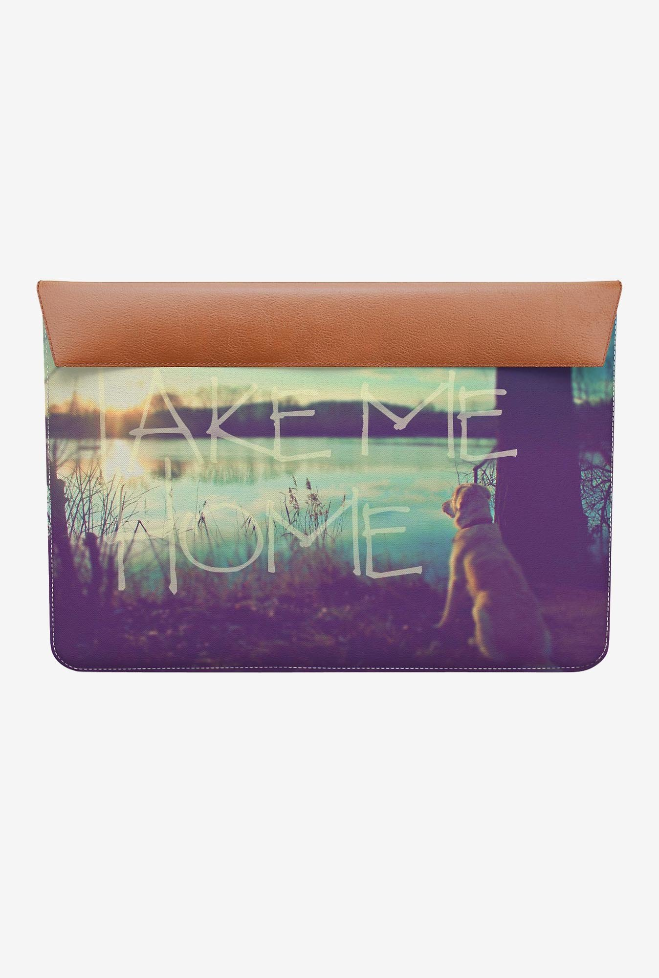 "DailyObjects Take Me Home MacBook Air 13"" Envelope Sleeve"