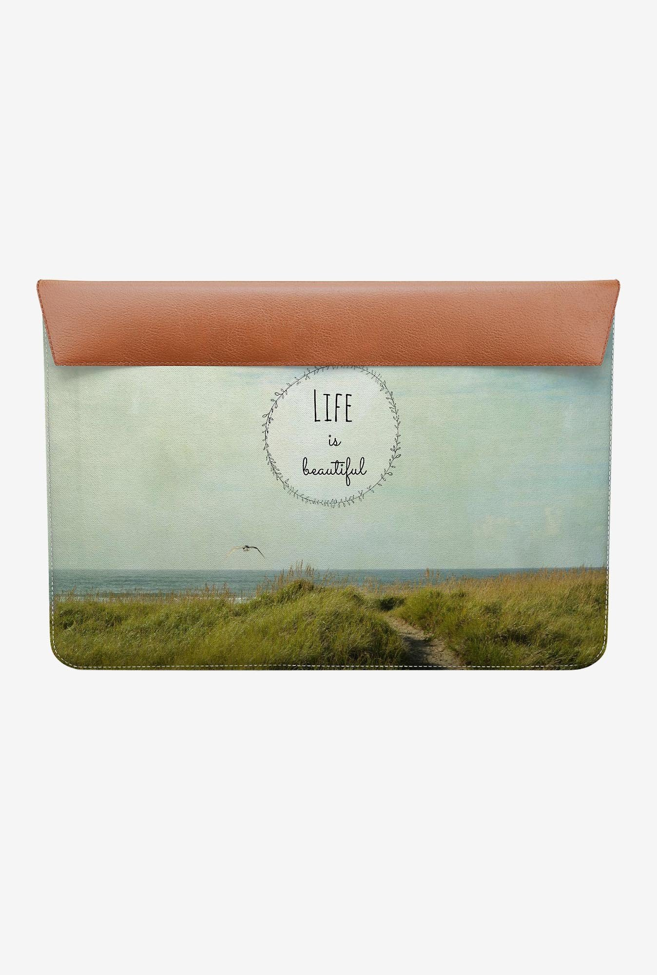 "DailyObjects Beautiful life MacBook Air 13"" Envelope Sleeve"