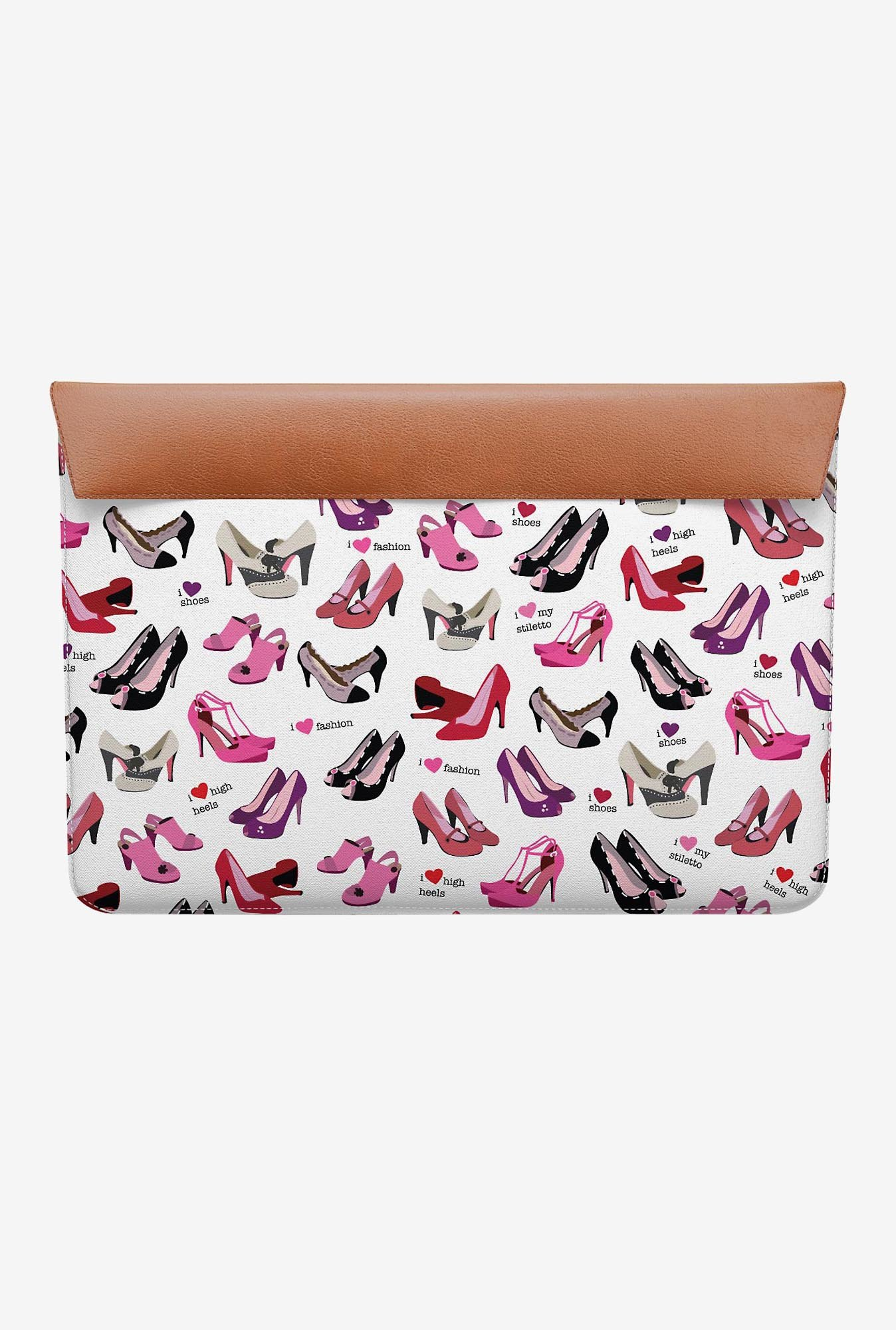 "DailyObjects Shoes MacBook Air 11"" Envelope Sleeve"