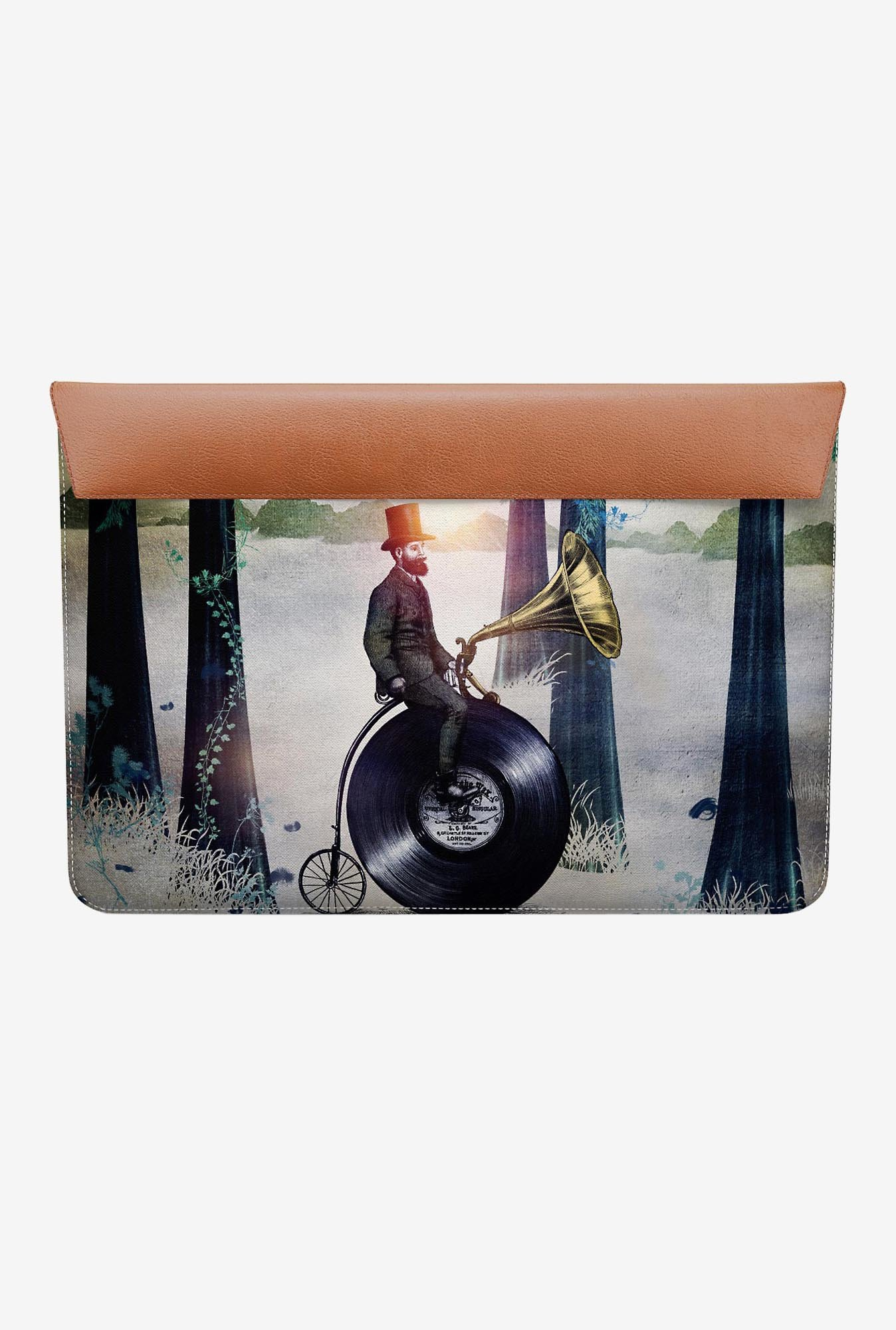 "DailyObjects Man In Forest MacBook Pro 13"" Envelope Sleeve"