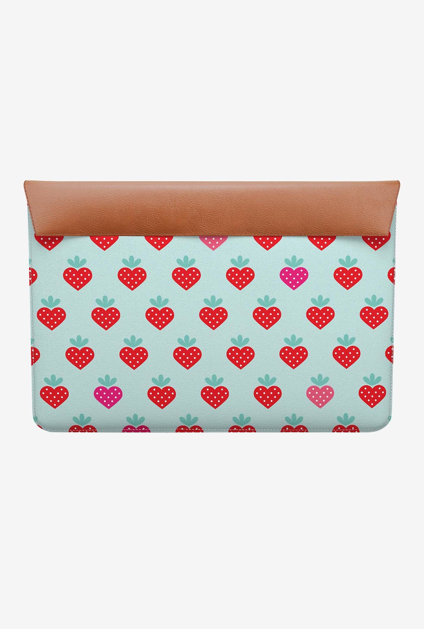 "DailyObjects Strawberry MacBook Air 11"" Envelope Sleeve"