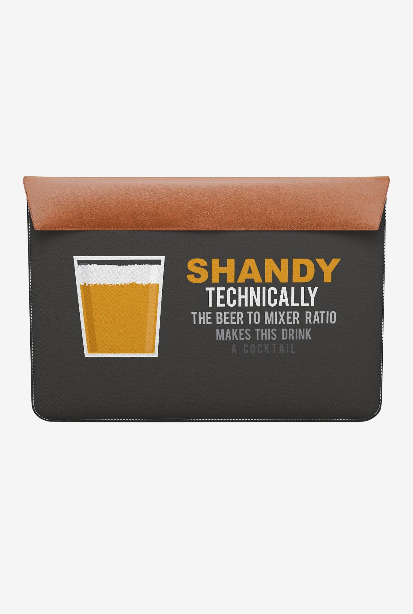 "DailyObjects Lager Shandy MacBook Air 13"" Envelope Sleeve"