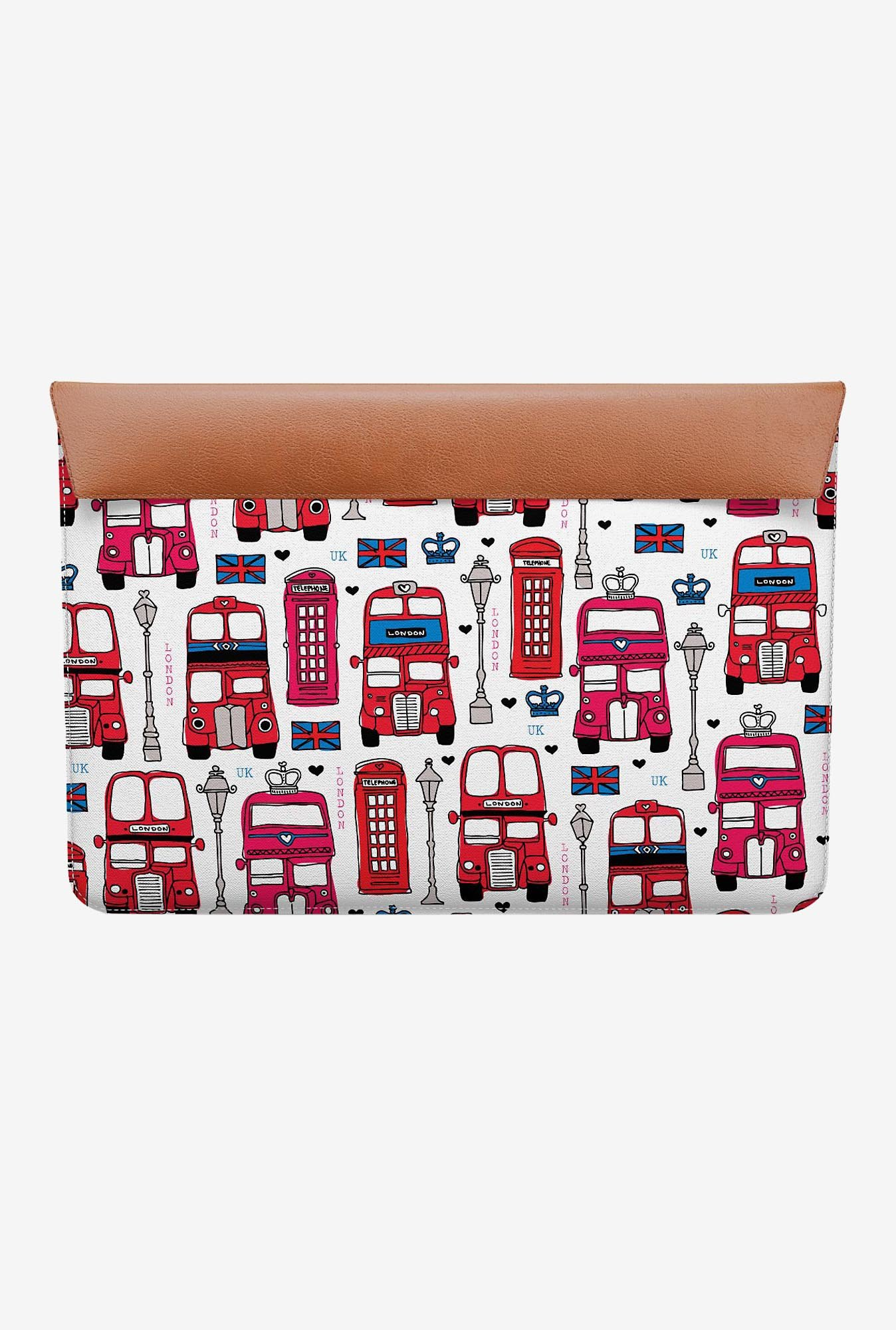 "DailyObjects London Bus MacBook 12"" Envelope Sleeve"