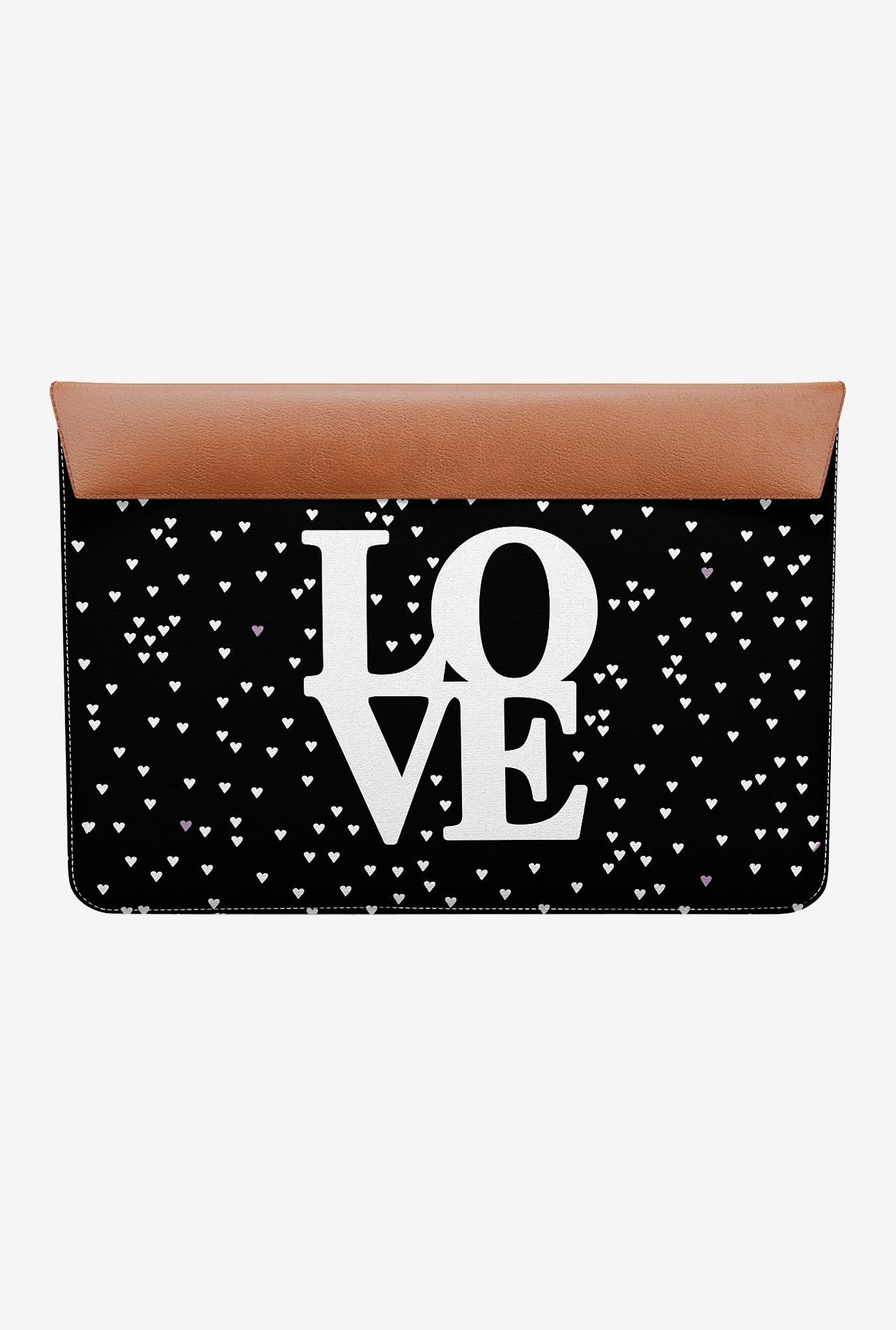 "DailyObjects Love Hearts MacBook 12"" Envelope Sleeve"