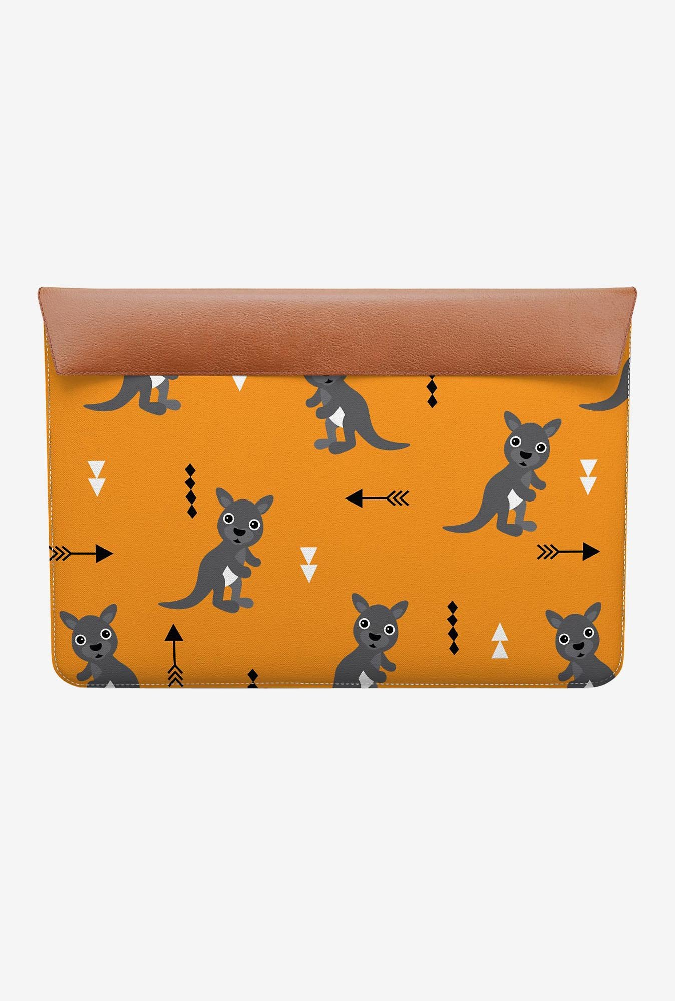 "DailyObjects Orange Kangaroo MacBook 12"" Envelope Sleeve"