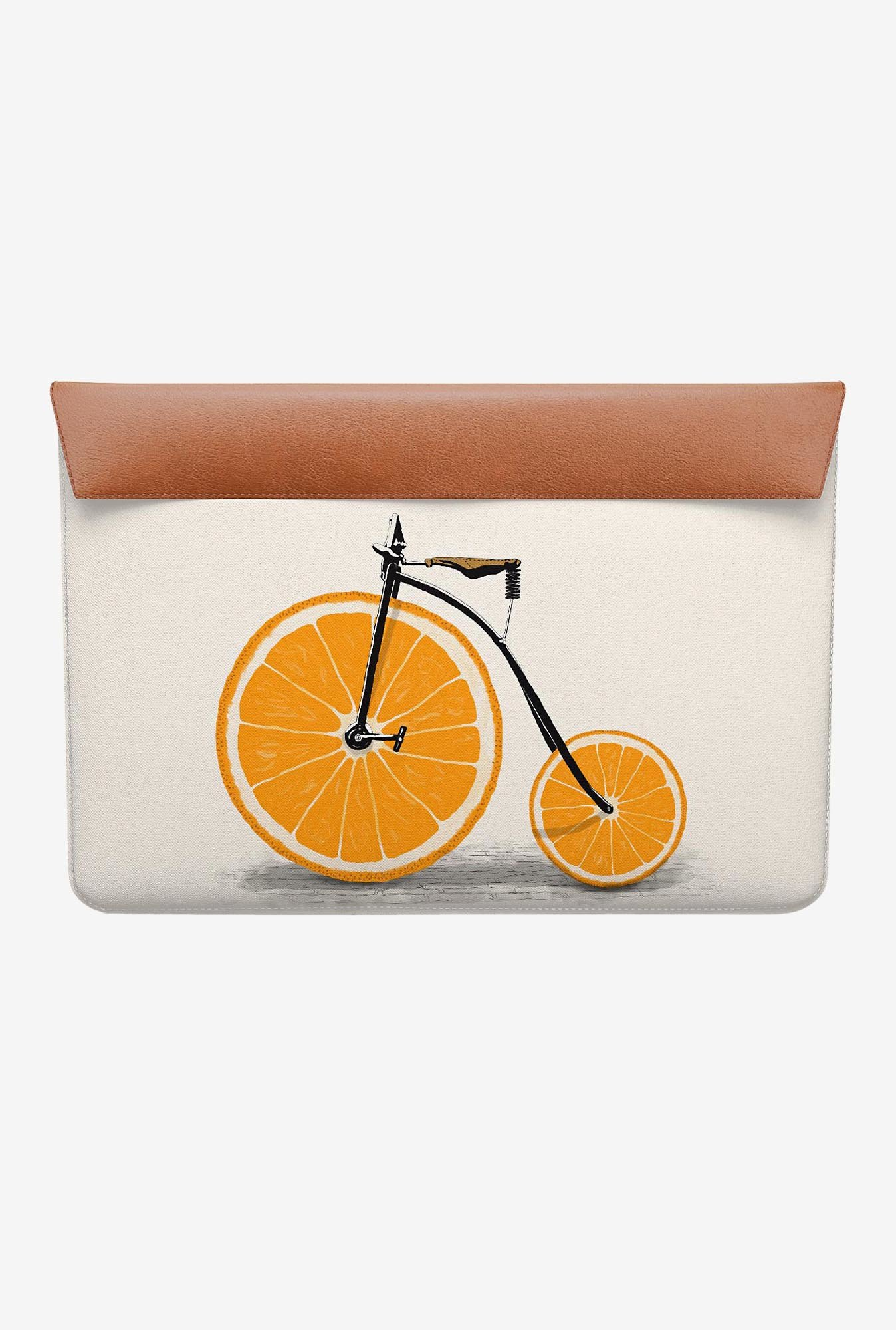 "DailyObjects Orange Wheels MacBook 12"" Envelope Sleeve"