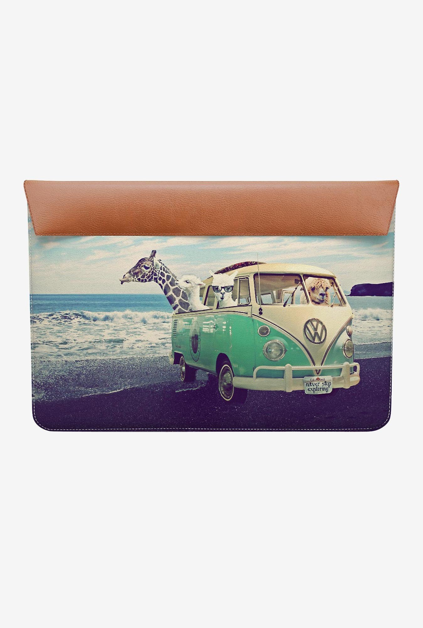 "DailyObjects Exploring Beach MacBook Pro 15"" Envelope Sleeve"