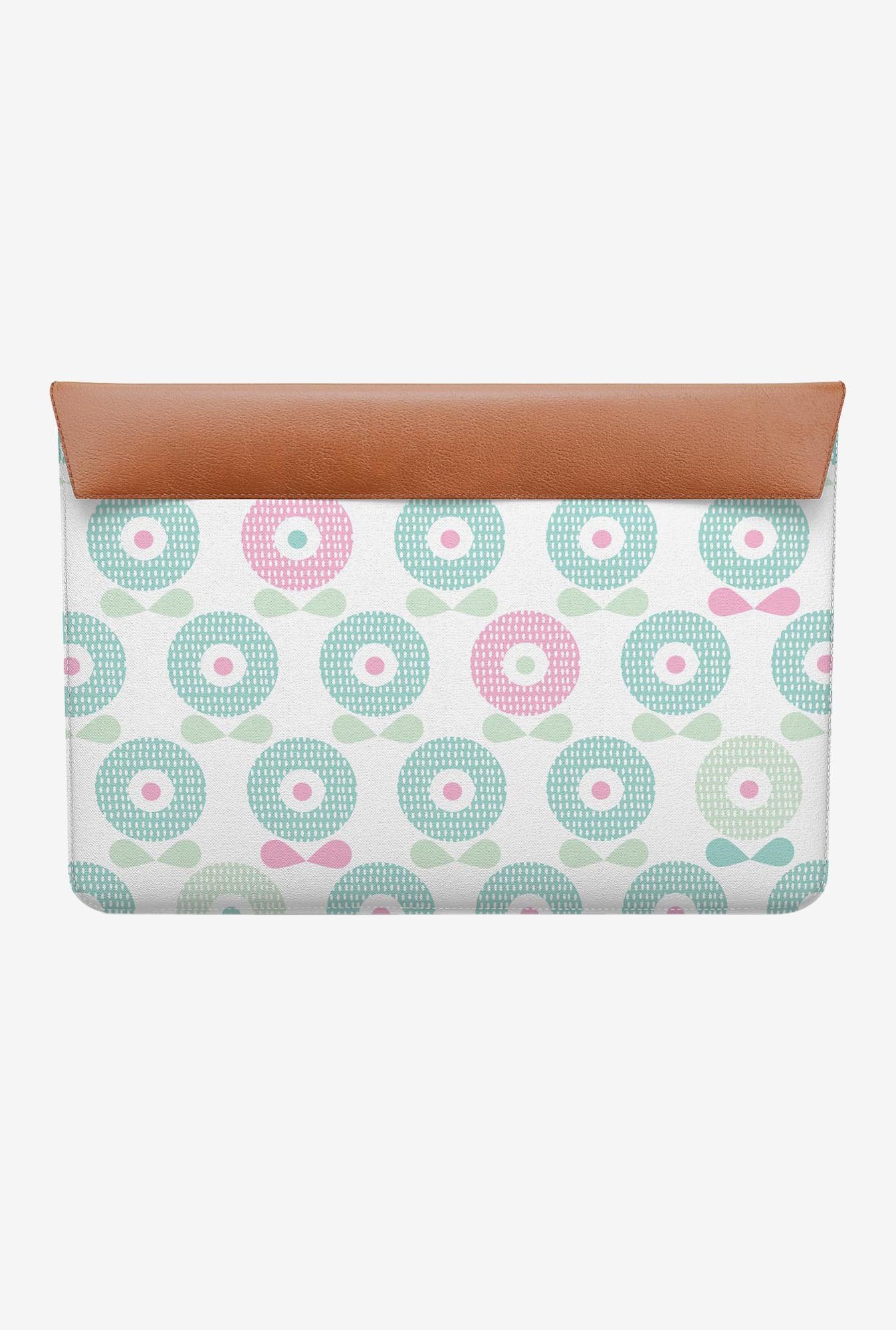 "DailyObjects Poppy Flowers MacBook 12"" Envelope Sleeve"