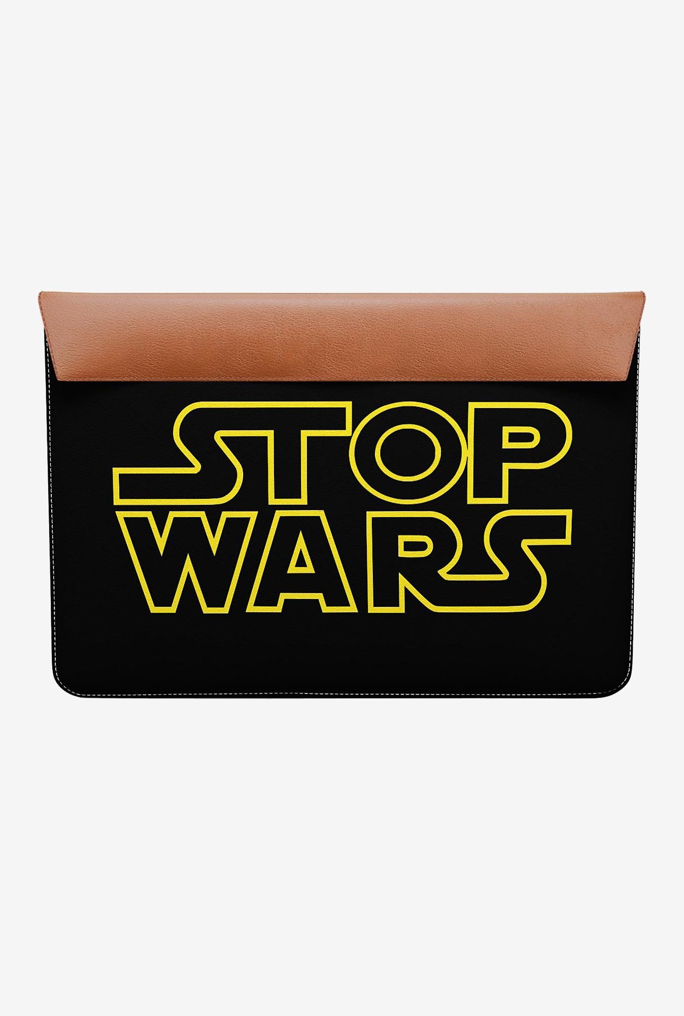 "DailyObjects Stop Wars MacBook Pro 15"" Envelope Sleeve"