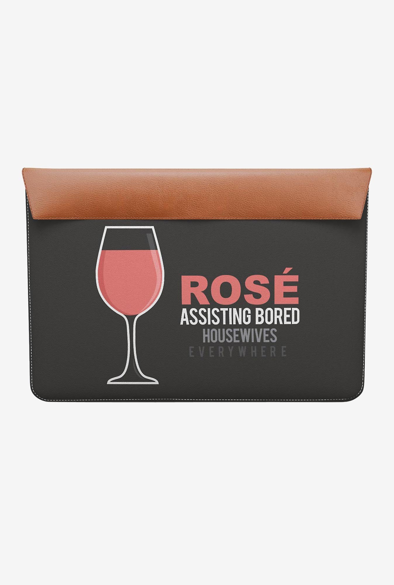 "DailyObjects Rose MacBook 12"" Envelope Sleeve"