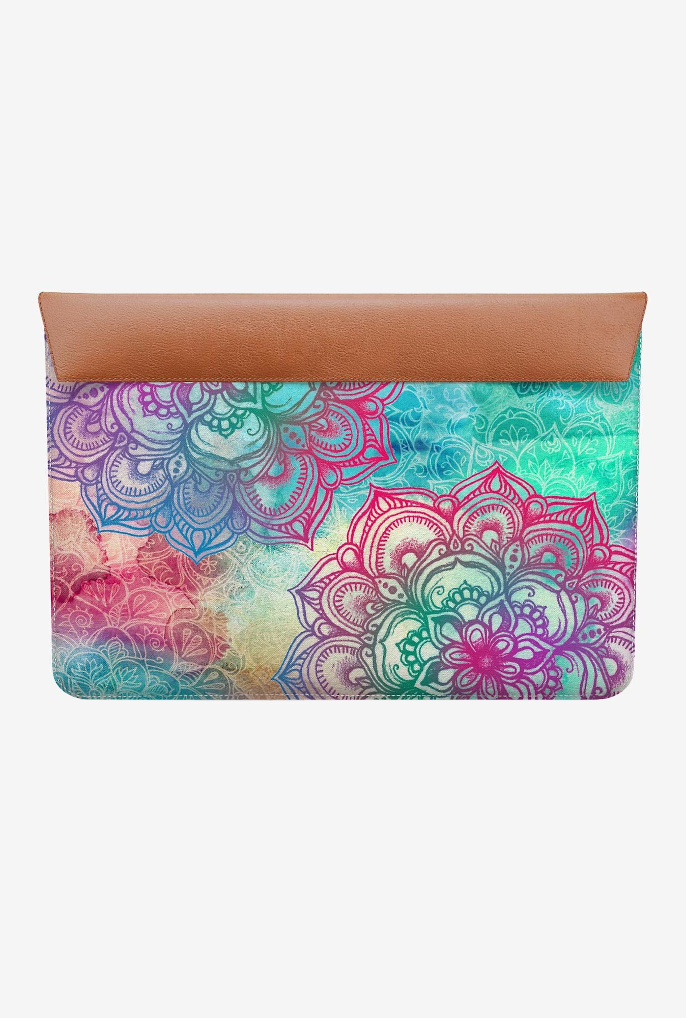 "DailyObjects Round And Round MacBook 12"" Envelope Sleeve"