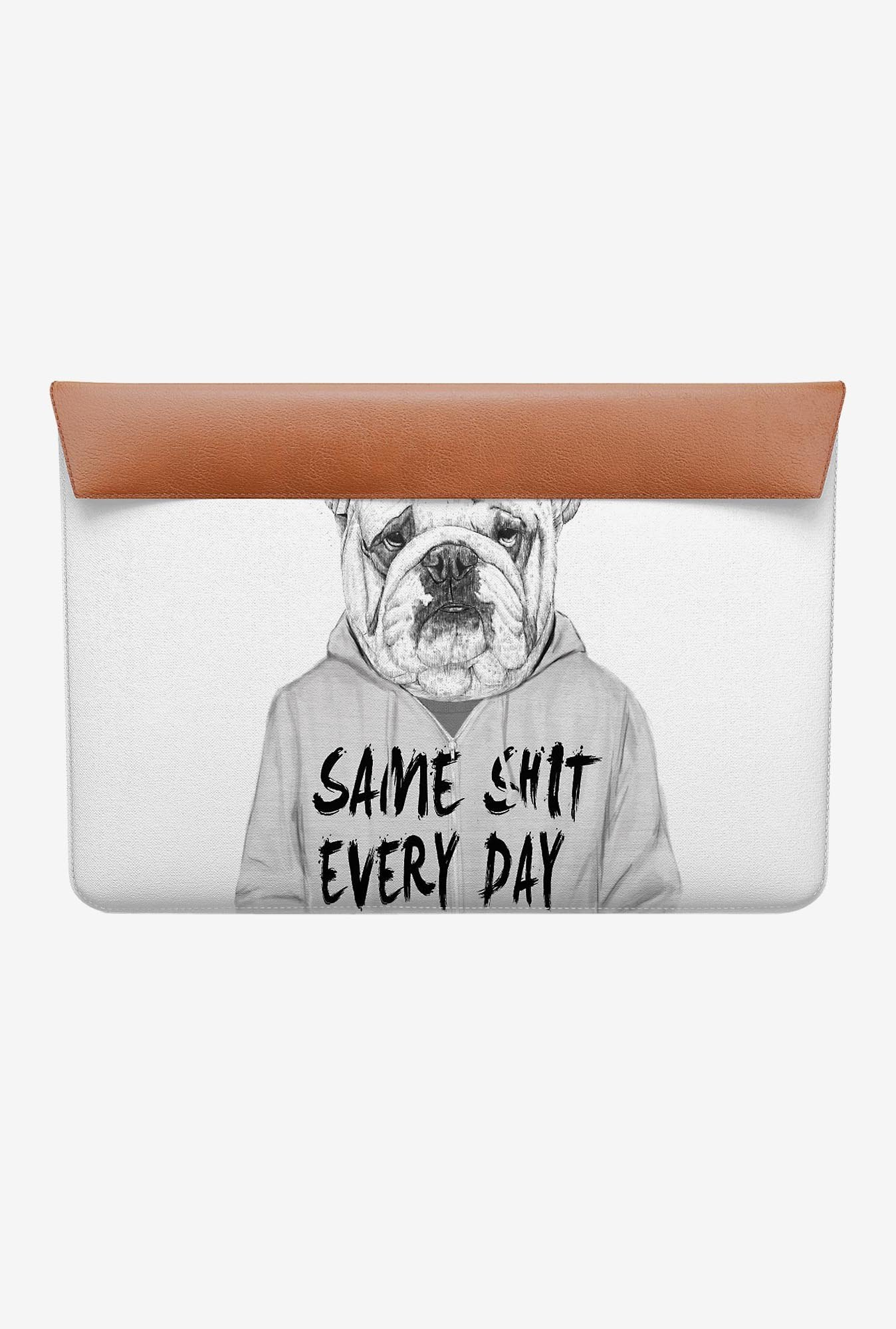 "DailyObjects Same Shit Every Day MacBook 12"" Envelope Sleeve"
