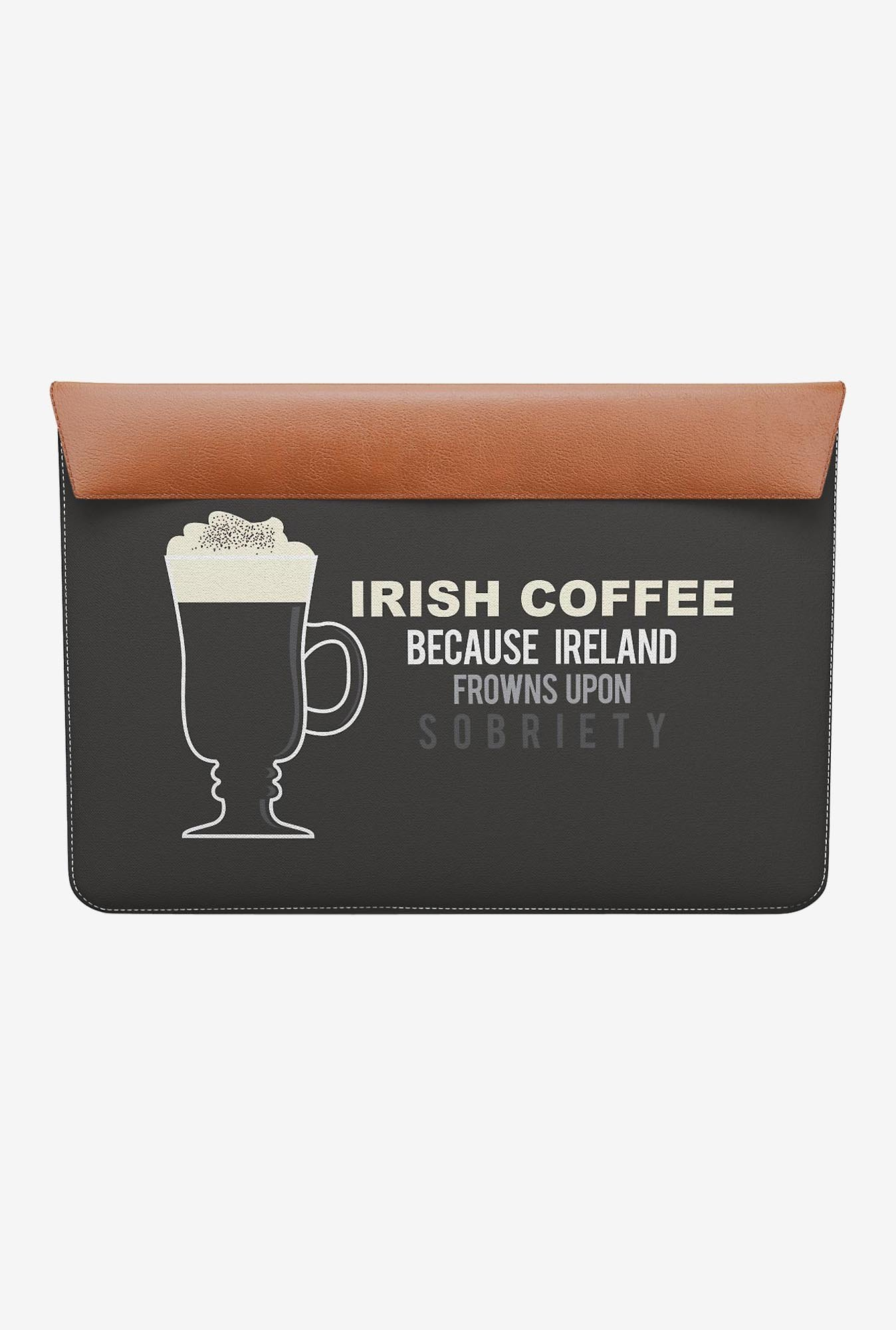 "DailyObjects Irish Coffee MacBook 12"" Envelope Sleeve"