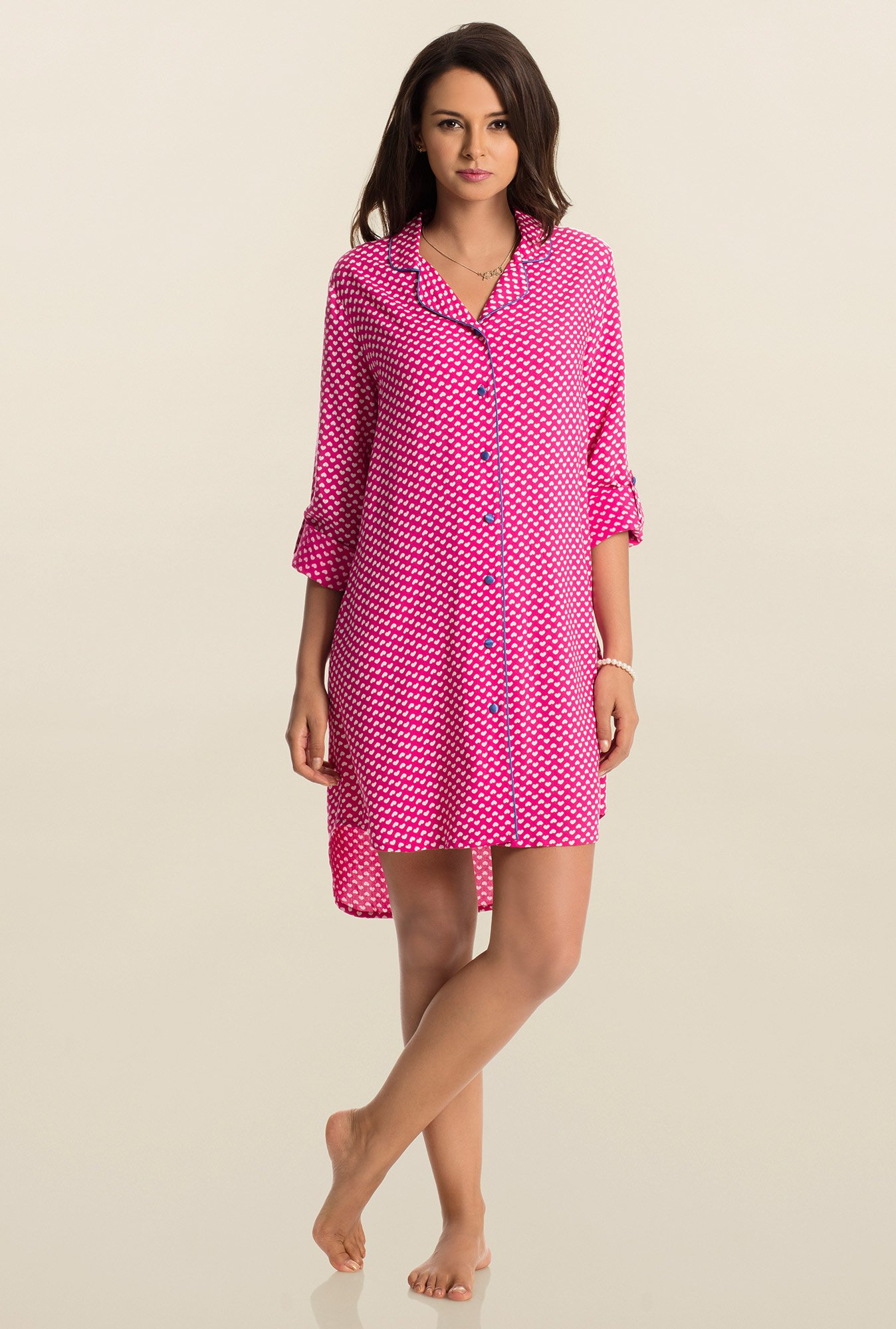 PrettySecrets Pink Snuggle Up Sleepshirt