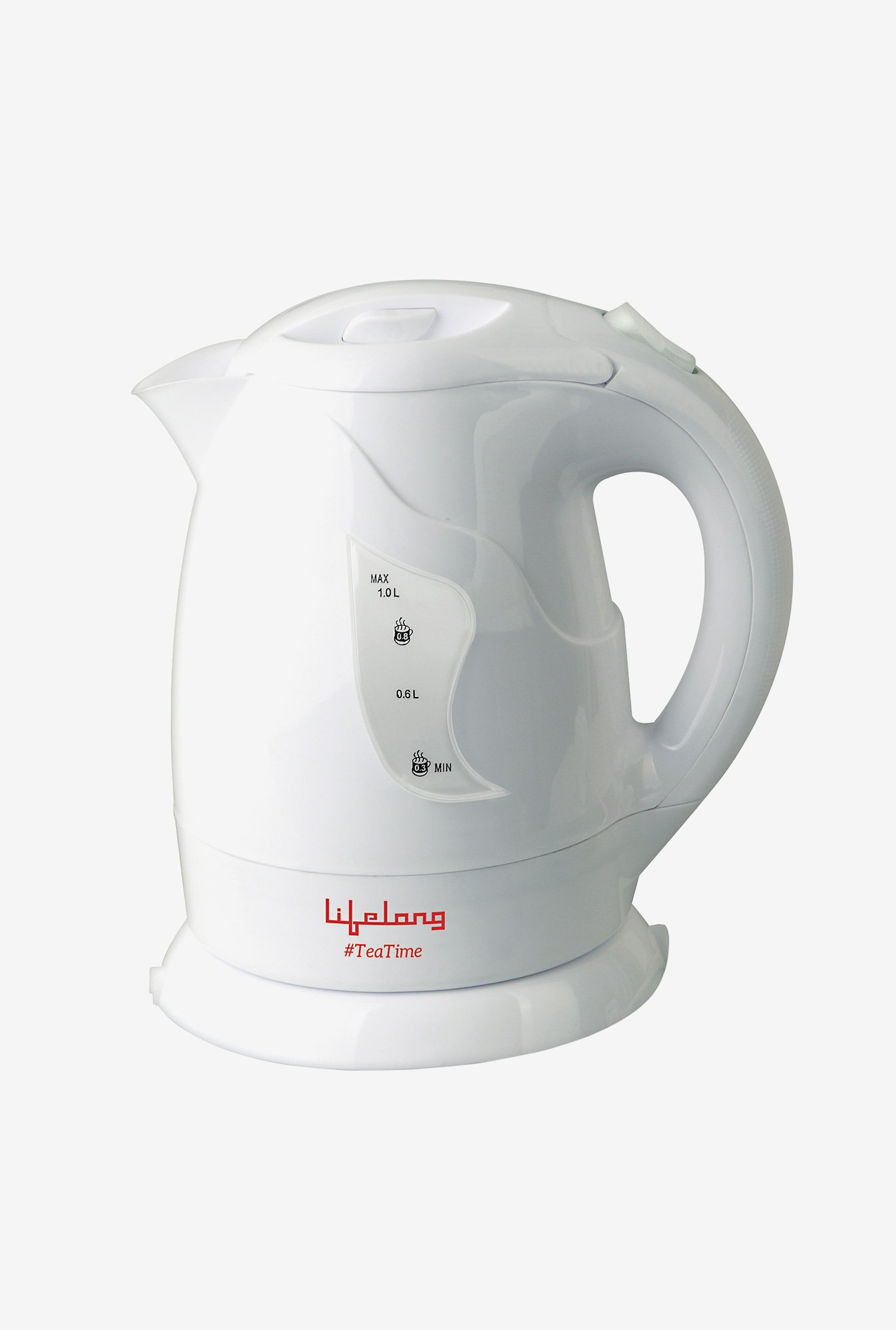 Lifelong TeaTime2 1 L Hairpin Electric Kettle (White)
