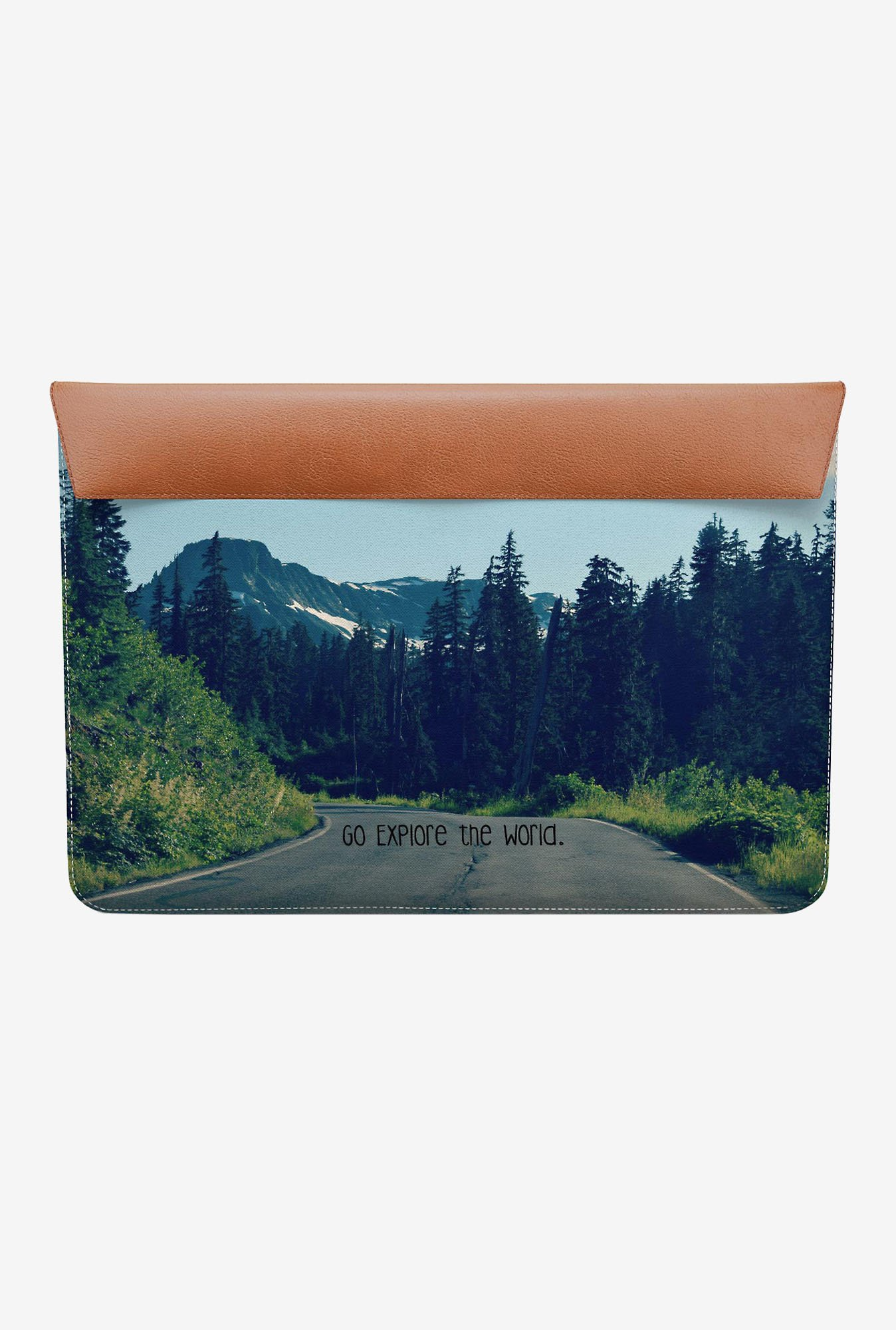 DailyObjects Explore World MacBook Air 13 Envelope Sleeve
