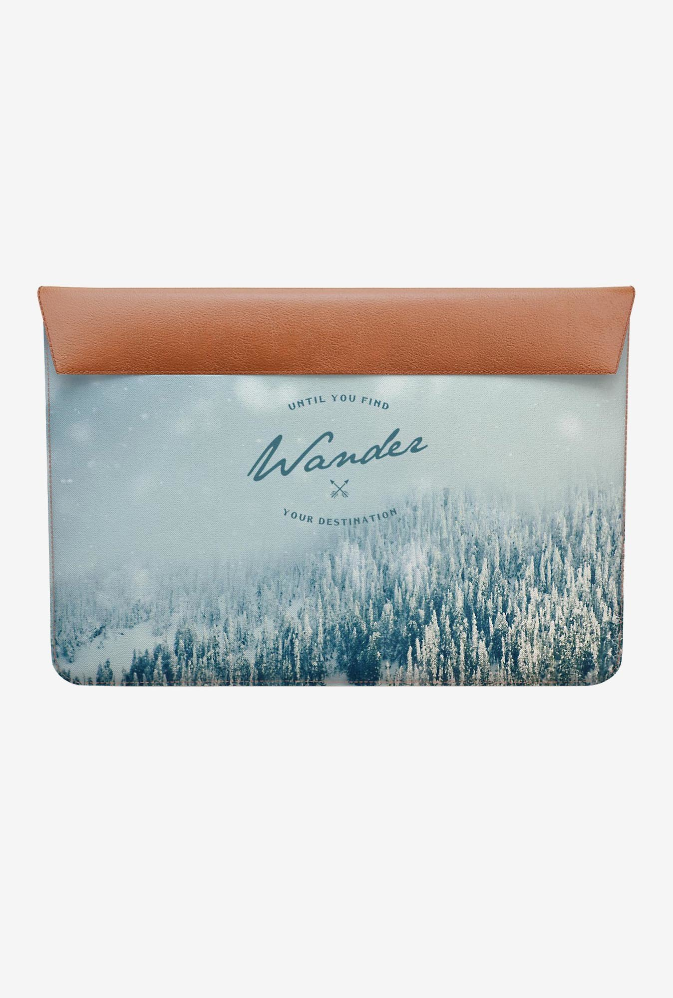 DailyObjects Find Destination MacBook Air 13 Envelope Sleeve