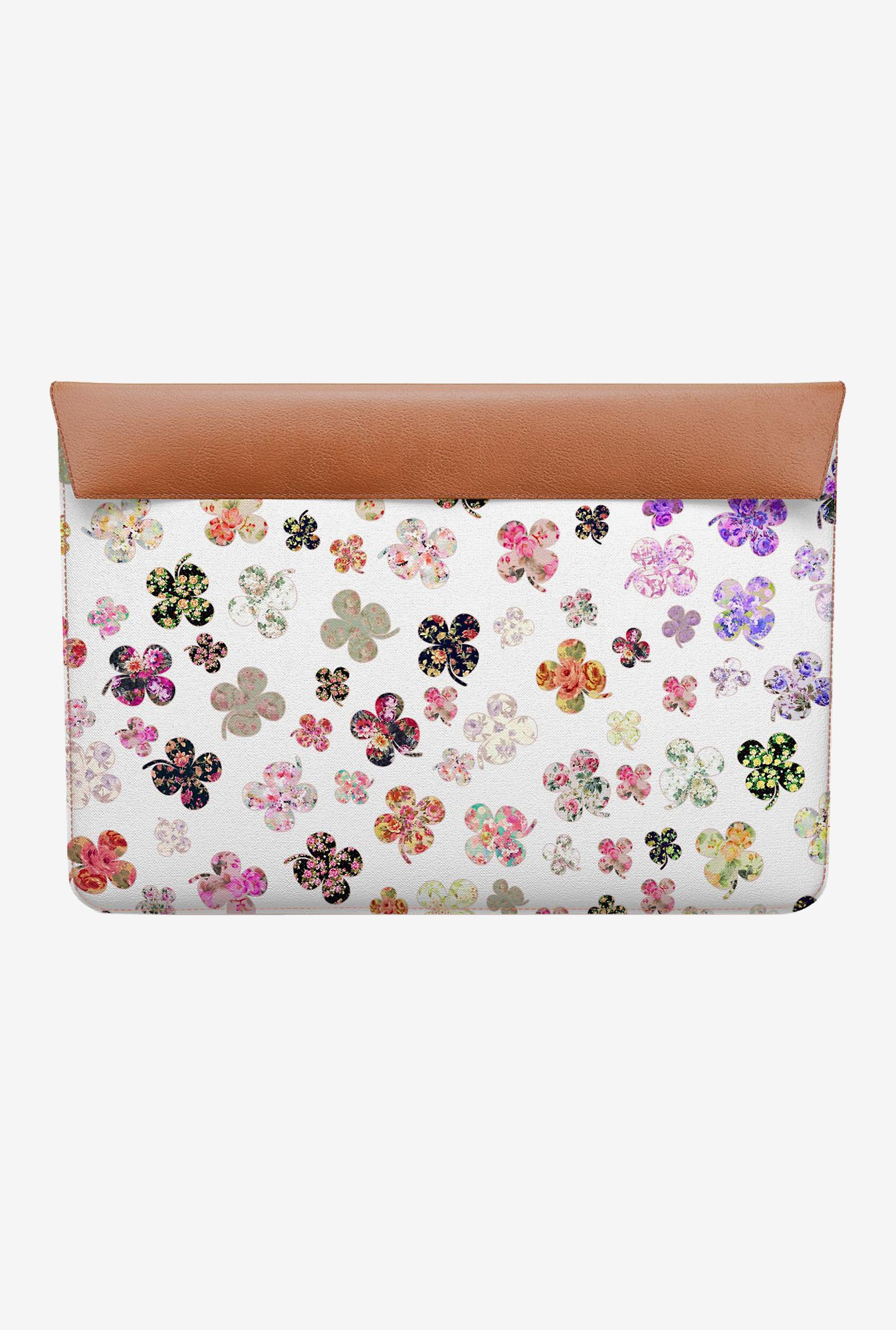 DailyObjects Floral Clovers MacBook 12 Envelope Sleeve