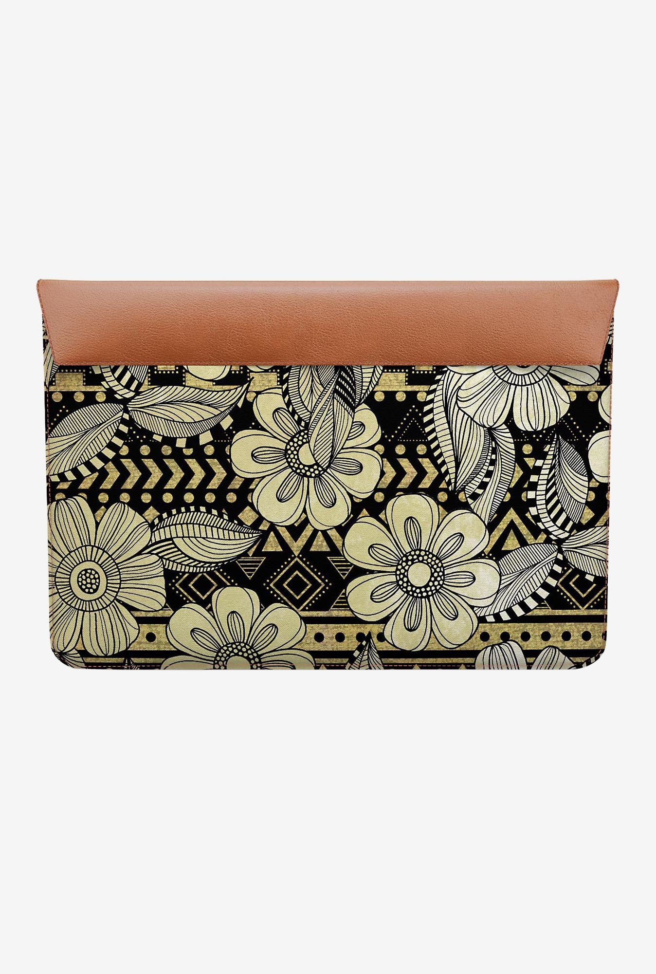 DailyObjects Floral Ink MacBook 12 Envelope Sleeve