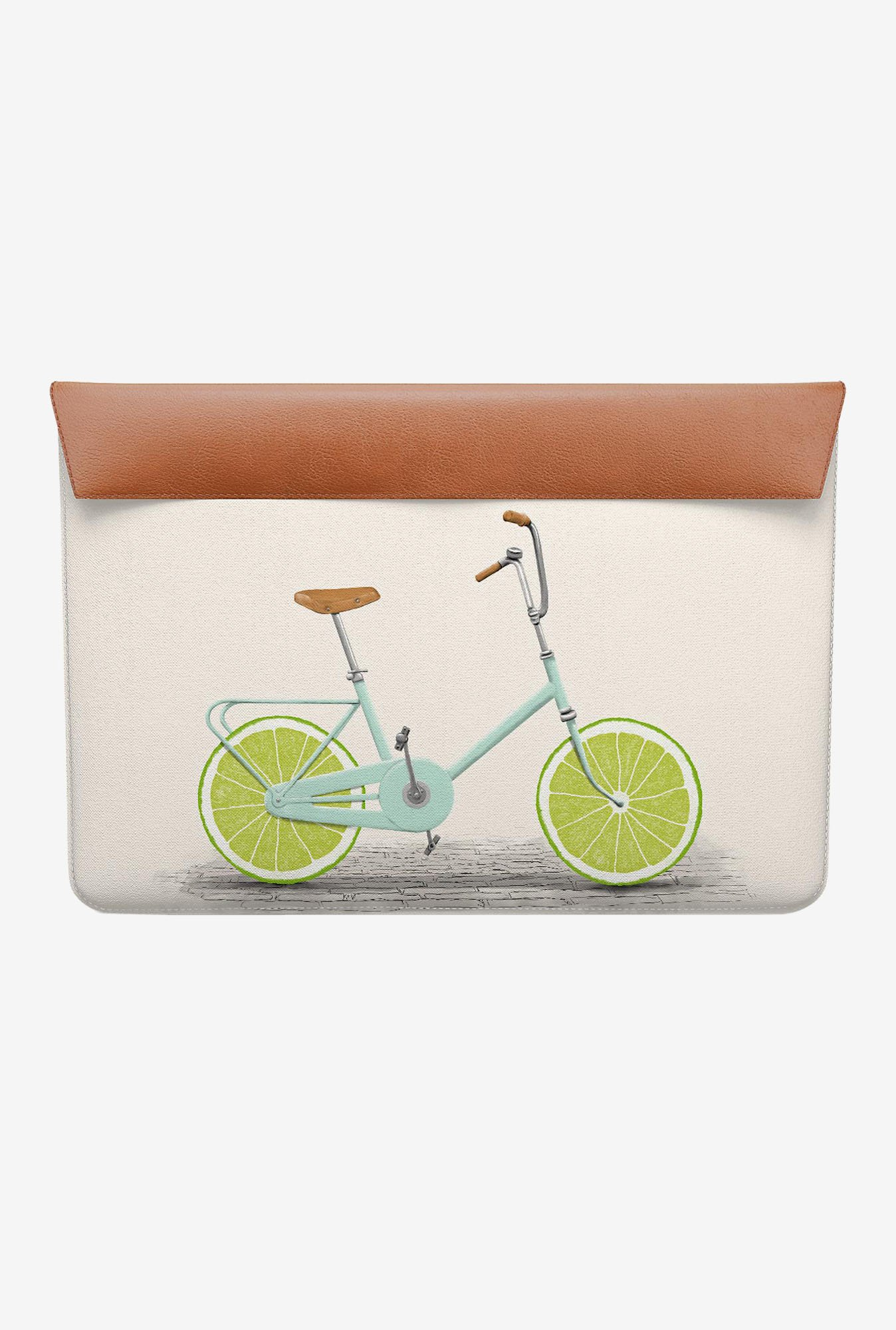 DailyObjects Lime Wheels MacBook Pro 15 Envelope Sleeve