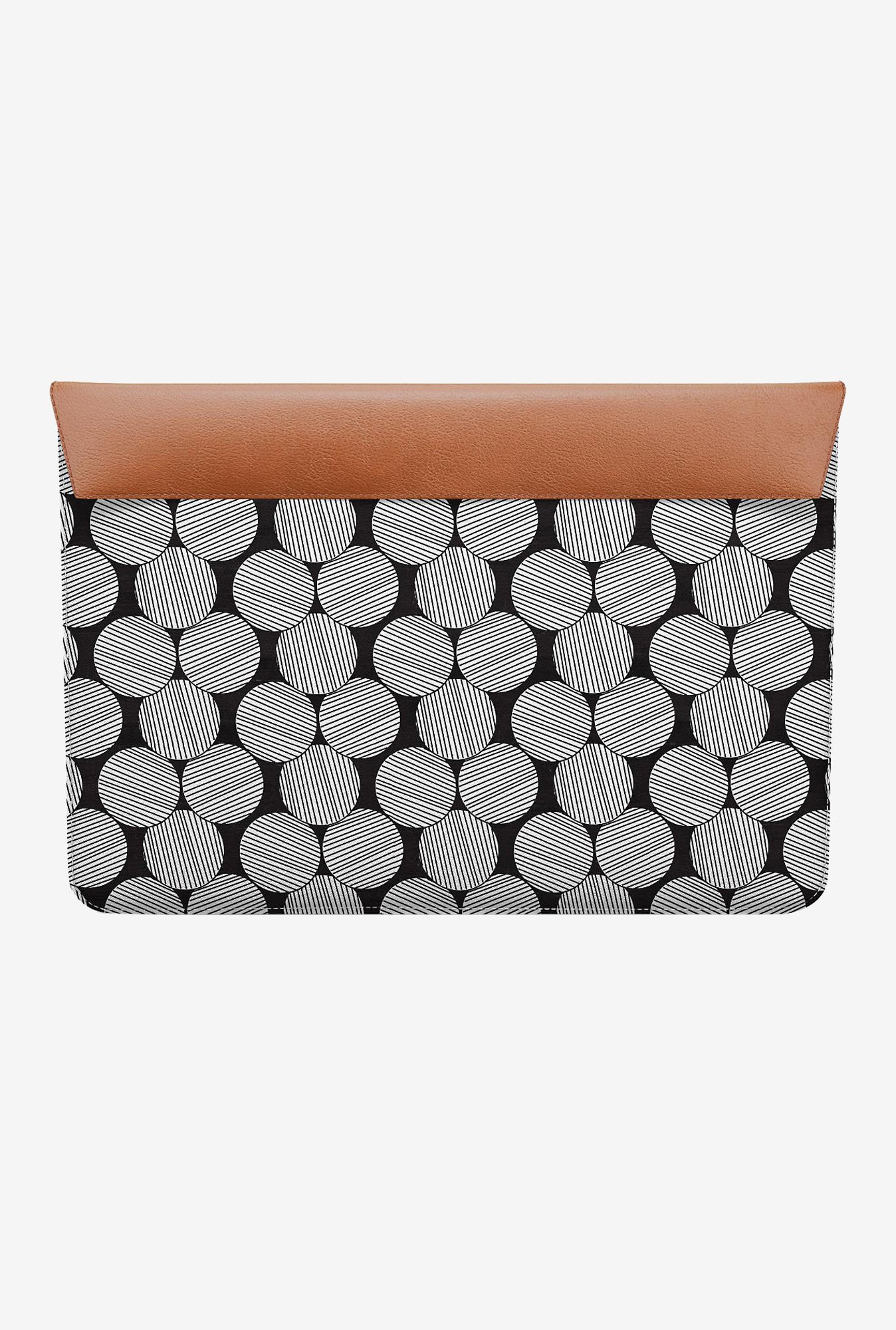 DailyObjects Lined Circles MacBook 12 Envelope Sleeve