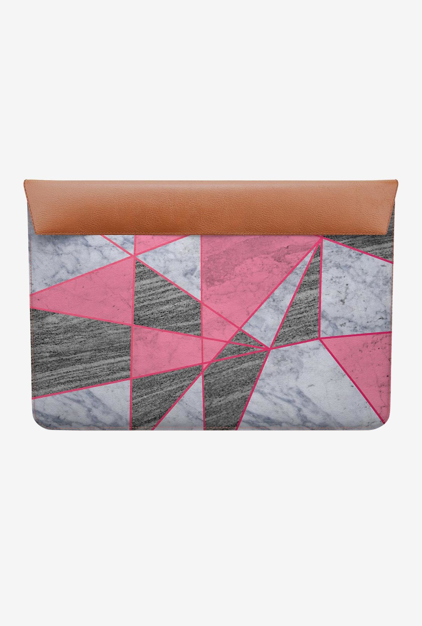 DailyObjects Marble Line Pink MacBook 12 Envelope Sleeve