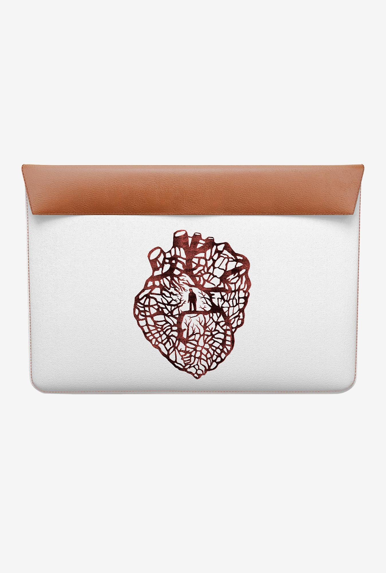 DailyObjects Maze Heart MacBook 12 Envelope Sleeve