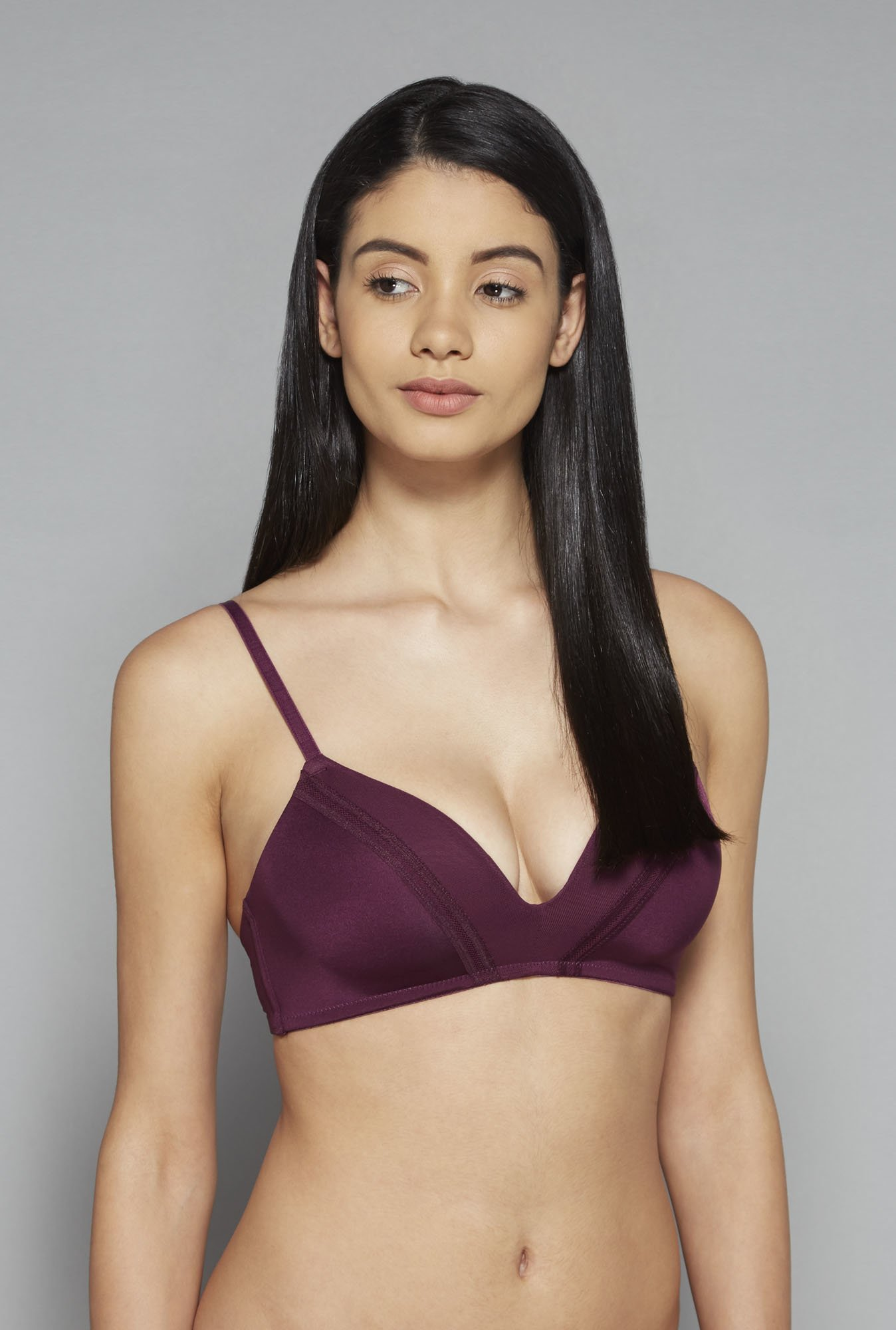 Wunderlove by Westside Wine Plunge Bra