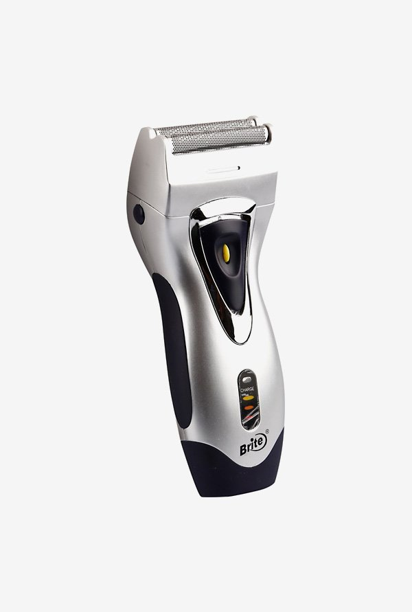 Brite BS 550 Trimmer cum Shaver for Men (Silver)