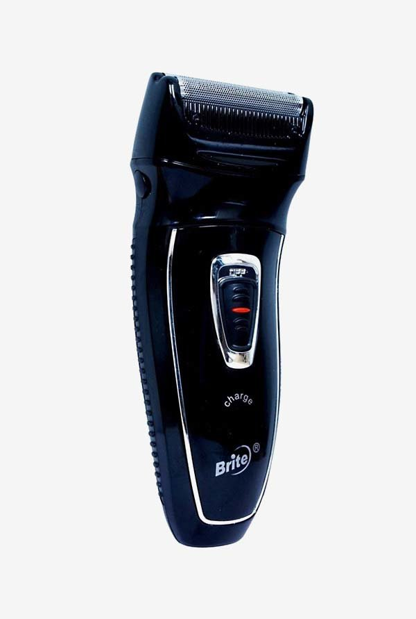Brite BS-990 Rechargeable Shaver for Men (Black)