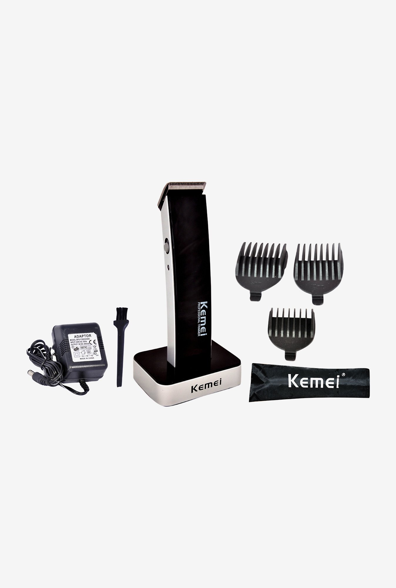 Kemei KM-619A Trimmer for Men (White & Black)
