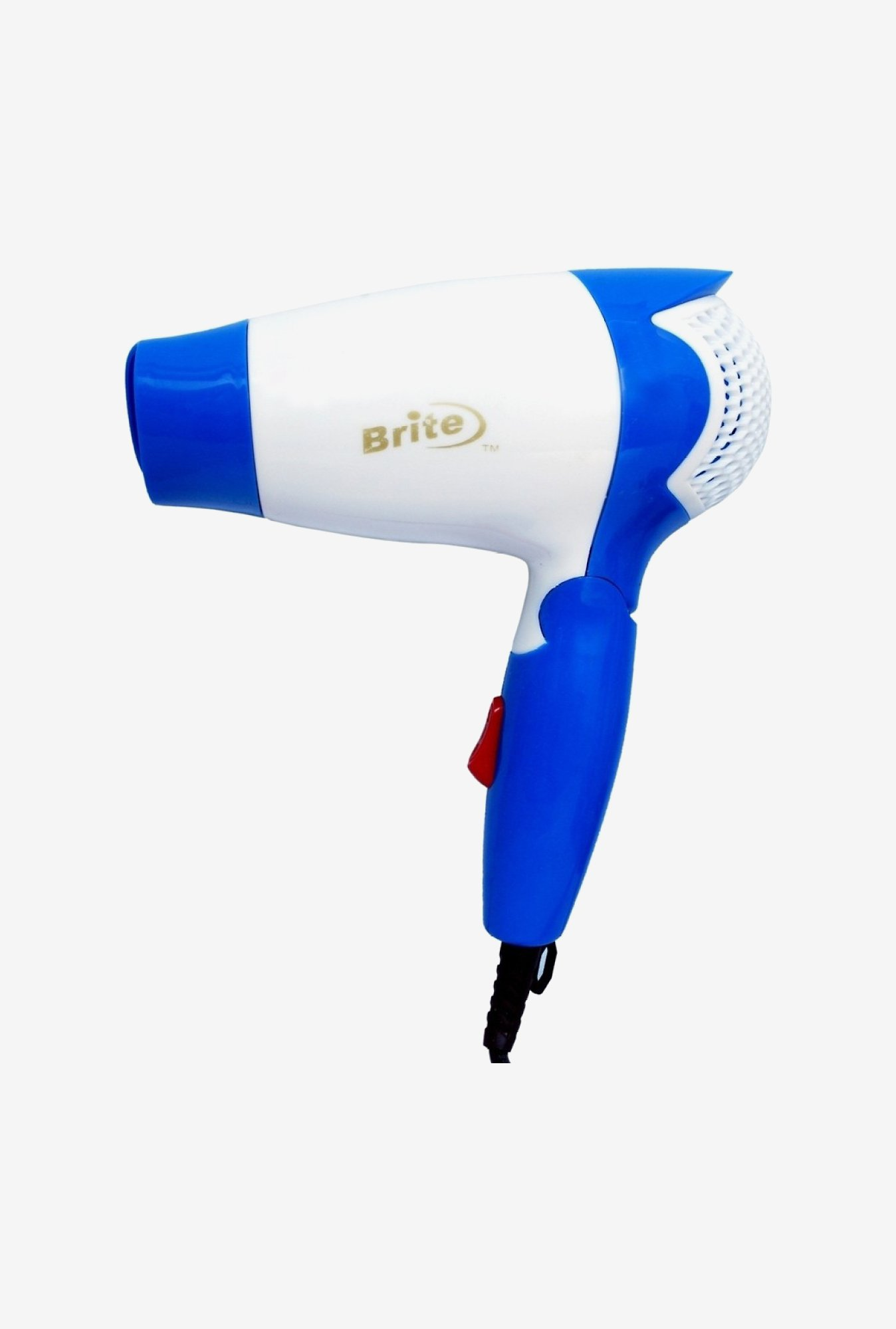 Brite BDH-306 Professional Hair Dryer 1200 W (Blue)