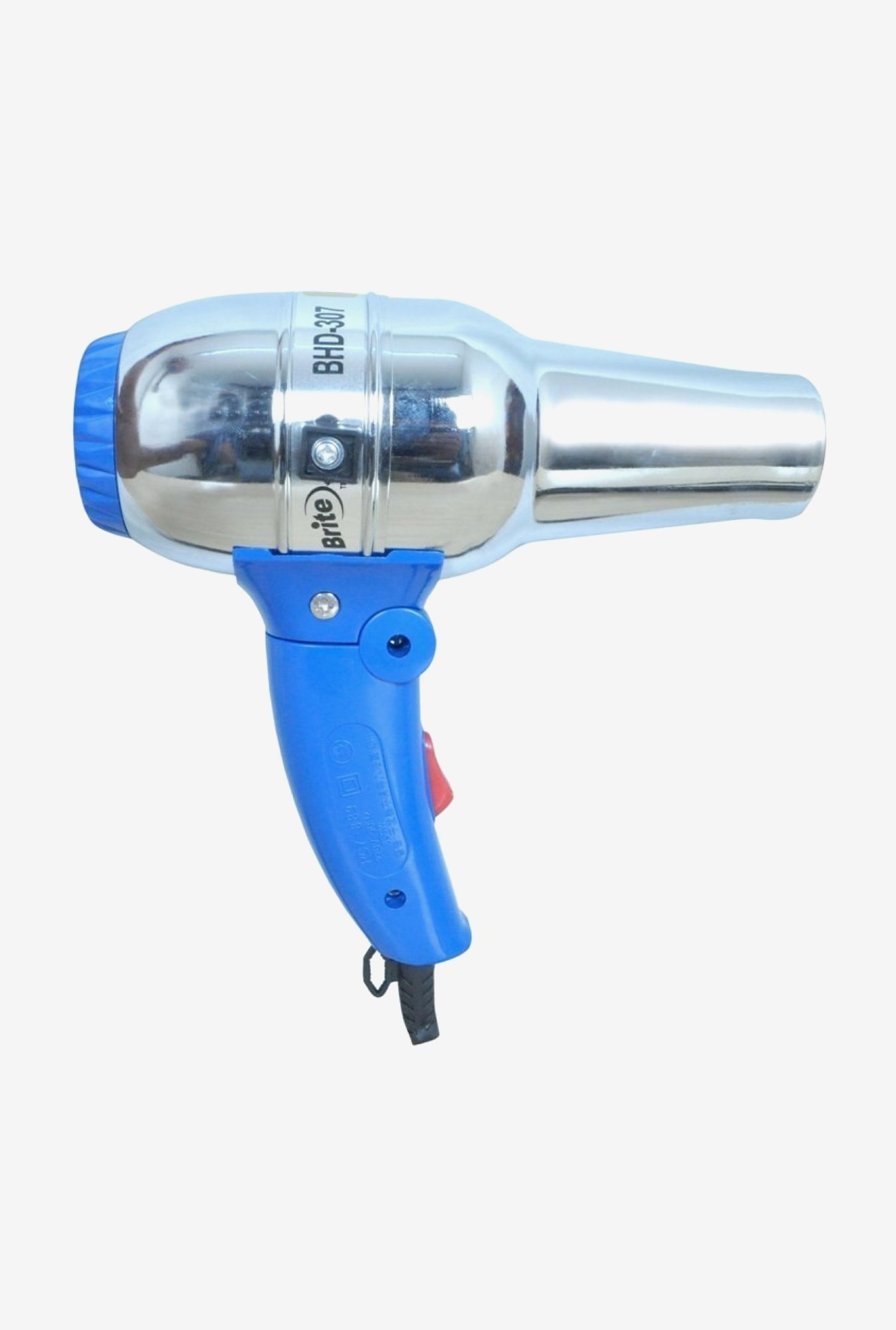 Brite BHD-307 Cool Shot Hair Dryer 1300 W (Blue)