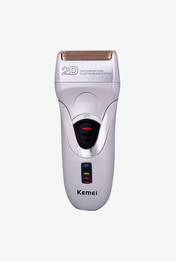 Kemei KM-8116 Trimmer for Men (Silver)