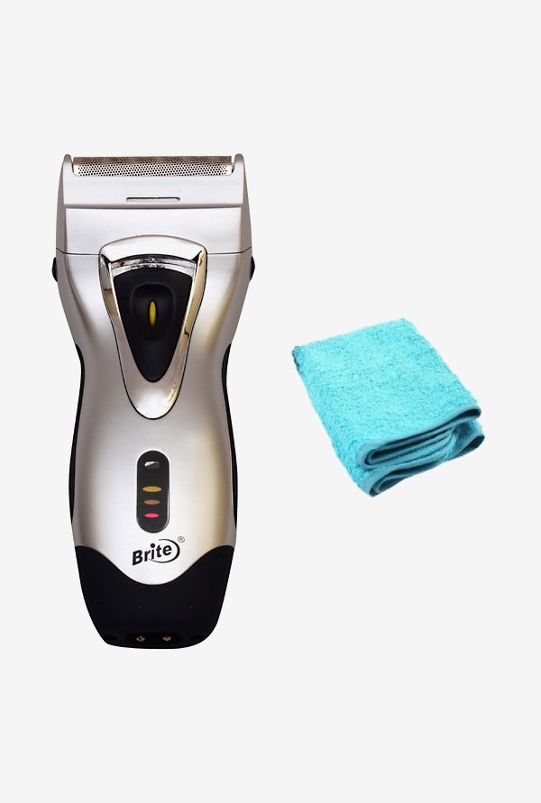 Brite Professional 550T Shaver for Men (silver)