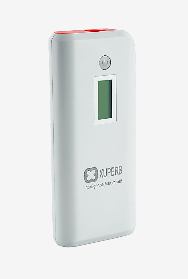 Xuperb XU-M4-110 11000 mAh Power Bank (White & orange)