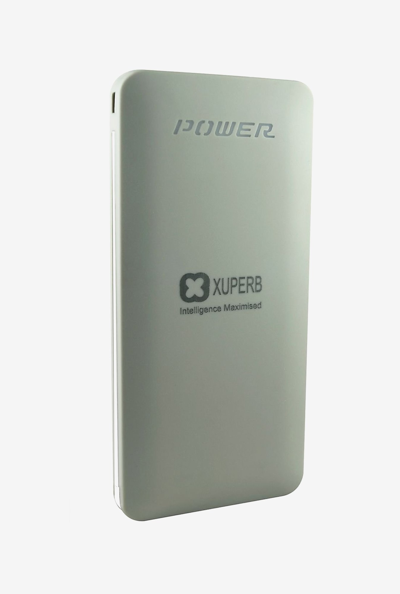 Xuperb XU-Poly-Axis-100 10000 mAh Power Bank (Silver)
