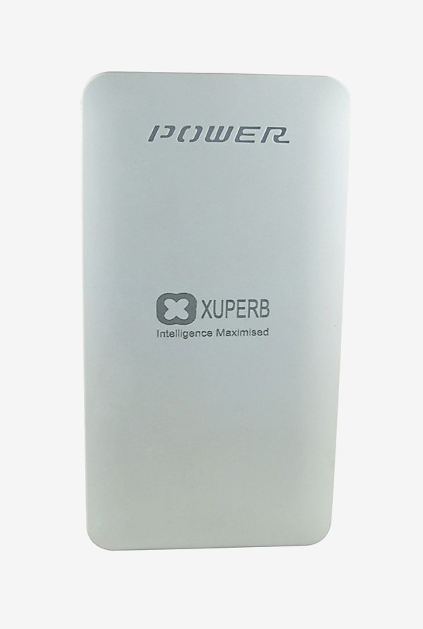 Xuperb XU-Poly-Axis-100 10000 mAh Power Bank (White)