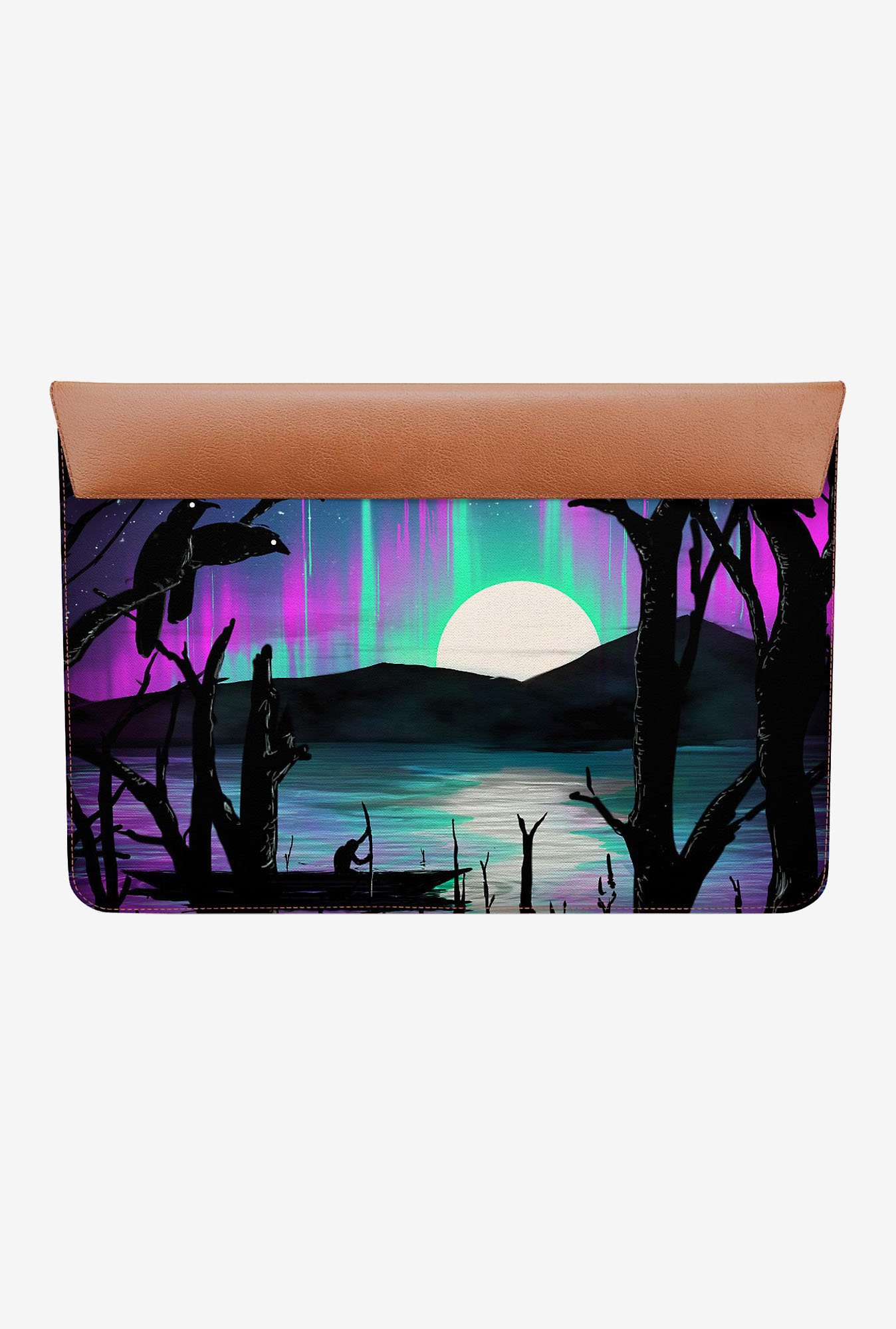 DailyObjects Night Aurora MacBook 12 Envelope Sleeve