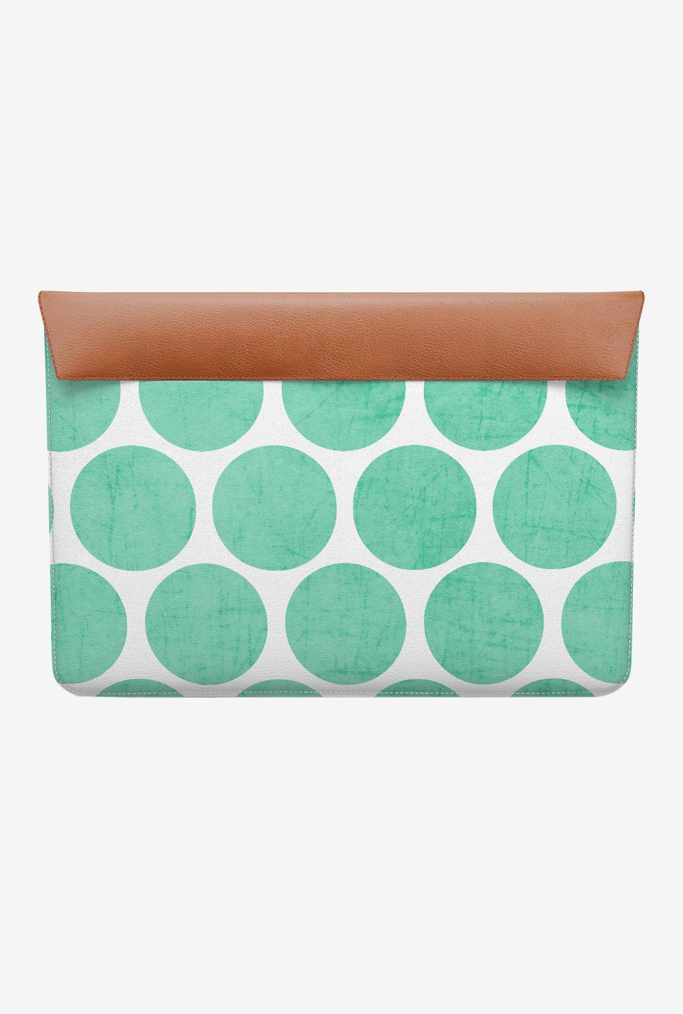 DailyObjects Mint Polka Dots MacBook Air 11 Envelope Sleeve