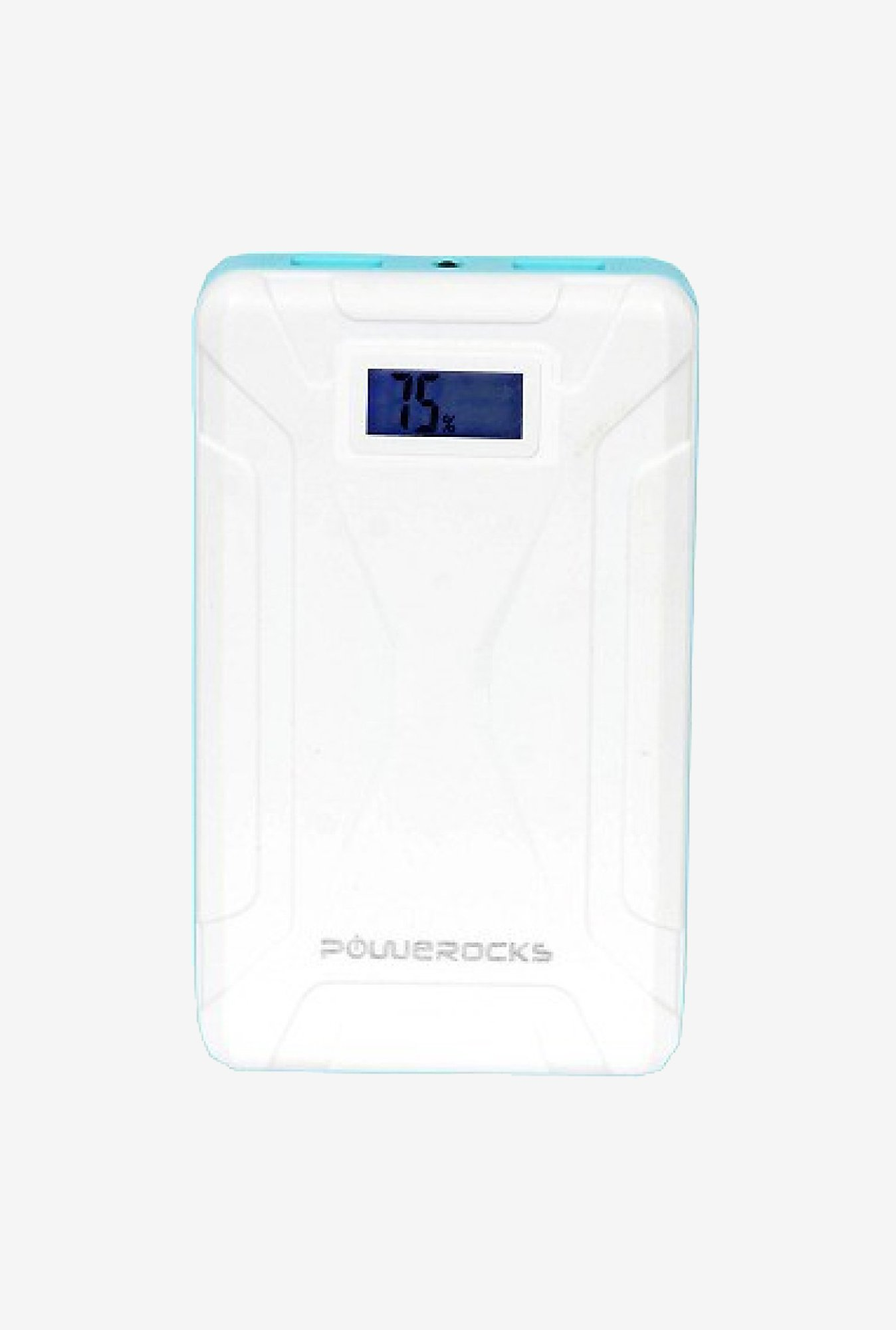 Powerocks Mach 125 12500mAh Power Bank (White & Blue)