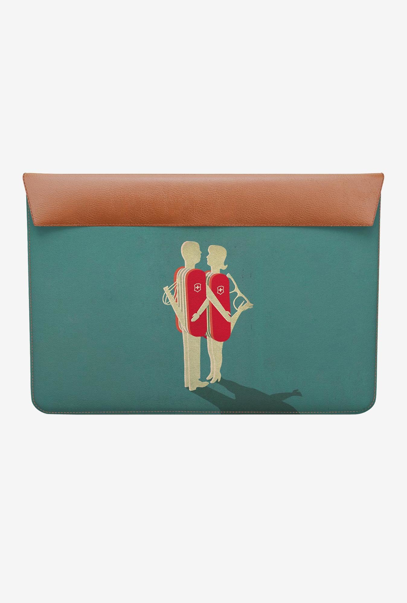 DailyObjects Relationship MacBook Air 13 Envelope Sleeve