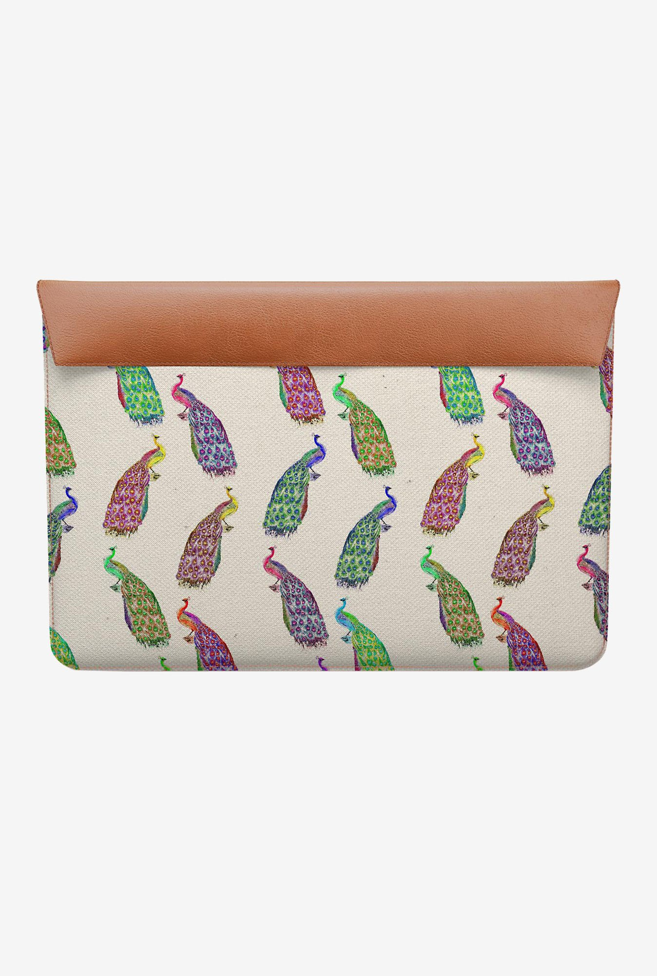 DailyObjects Retro Peacock MacBook Air 11 Envelope Sleeve